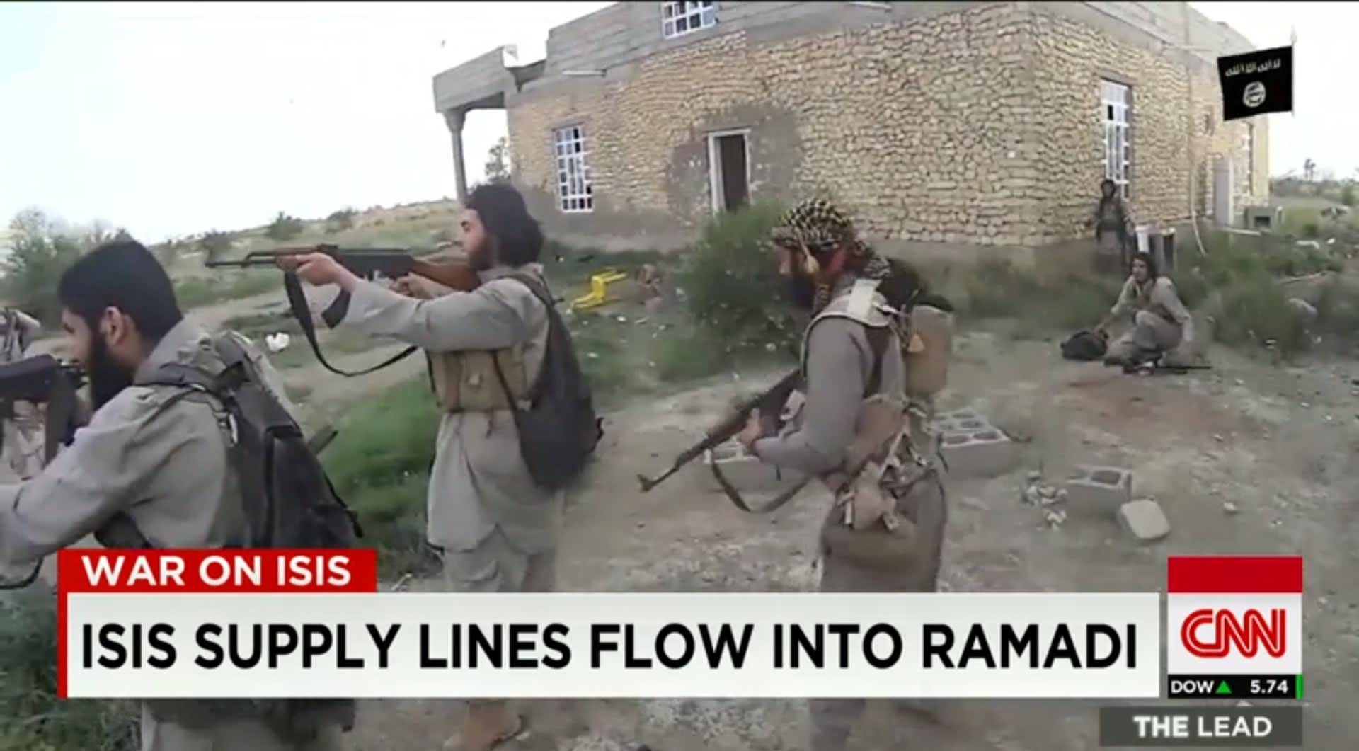 """عسكريون أمريكيون يتوقعون عملية عراقية وشيكة لاستعادة الرمادي من قبضة """"داعش"""""""