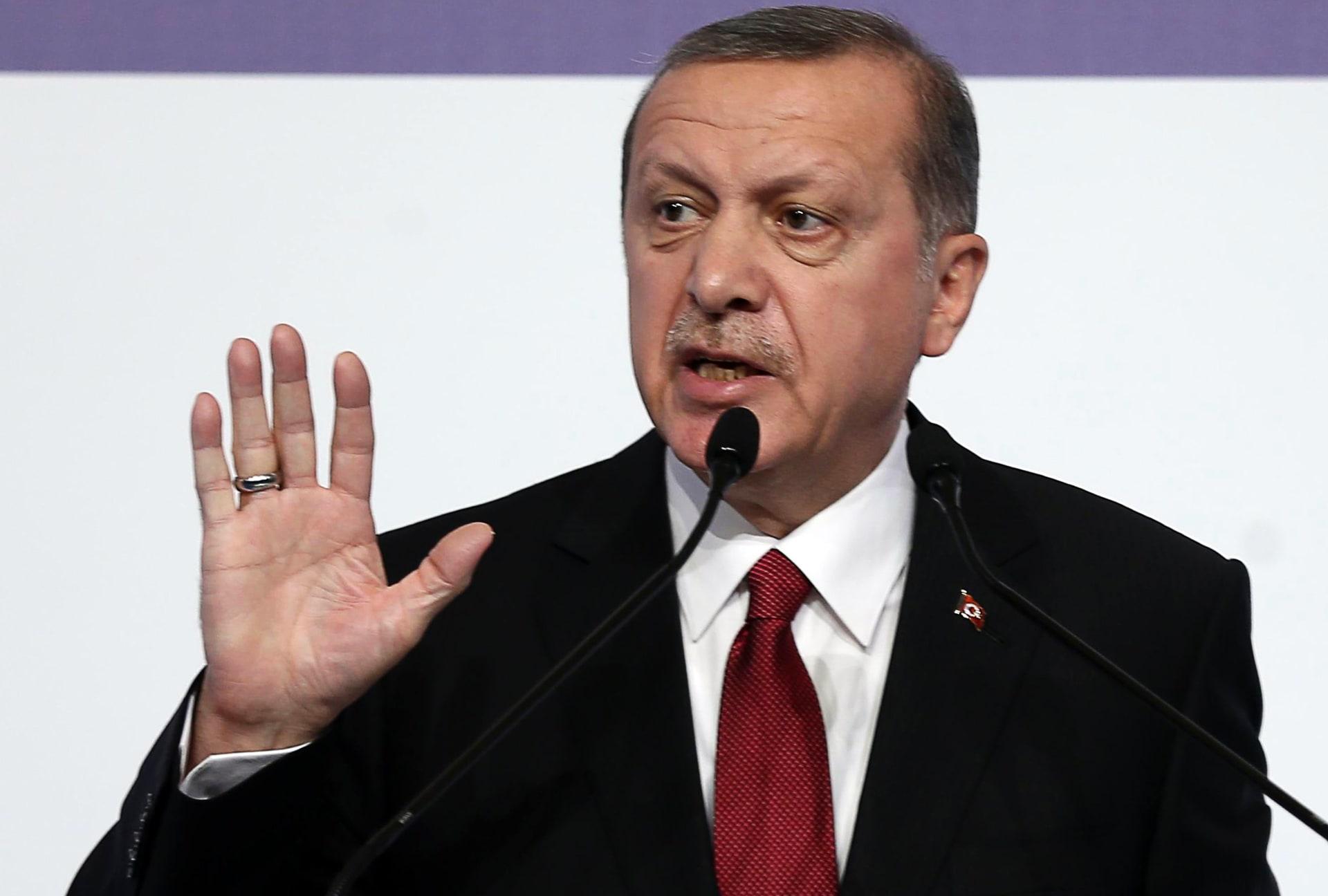 أردوغان: لا وجود لداعش بموقع تحليق الطائرة الروسية.. لن نسمح انتهاك حدودنا الآن وبالمستقبل