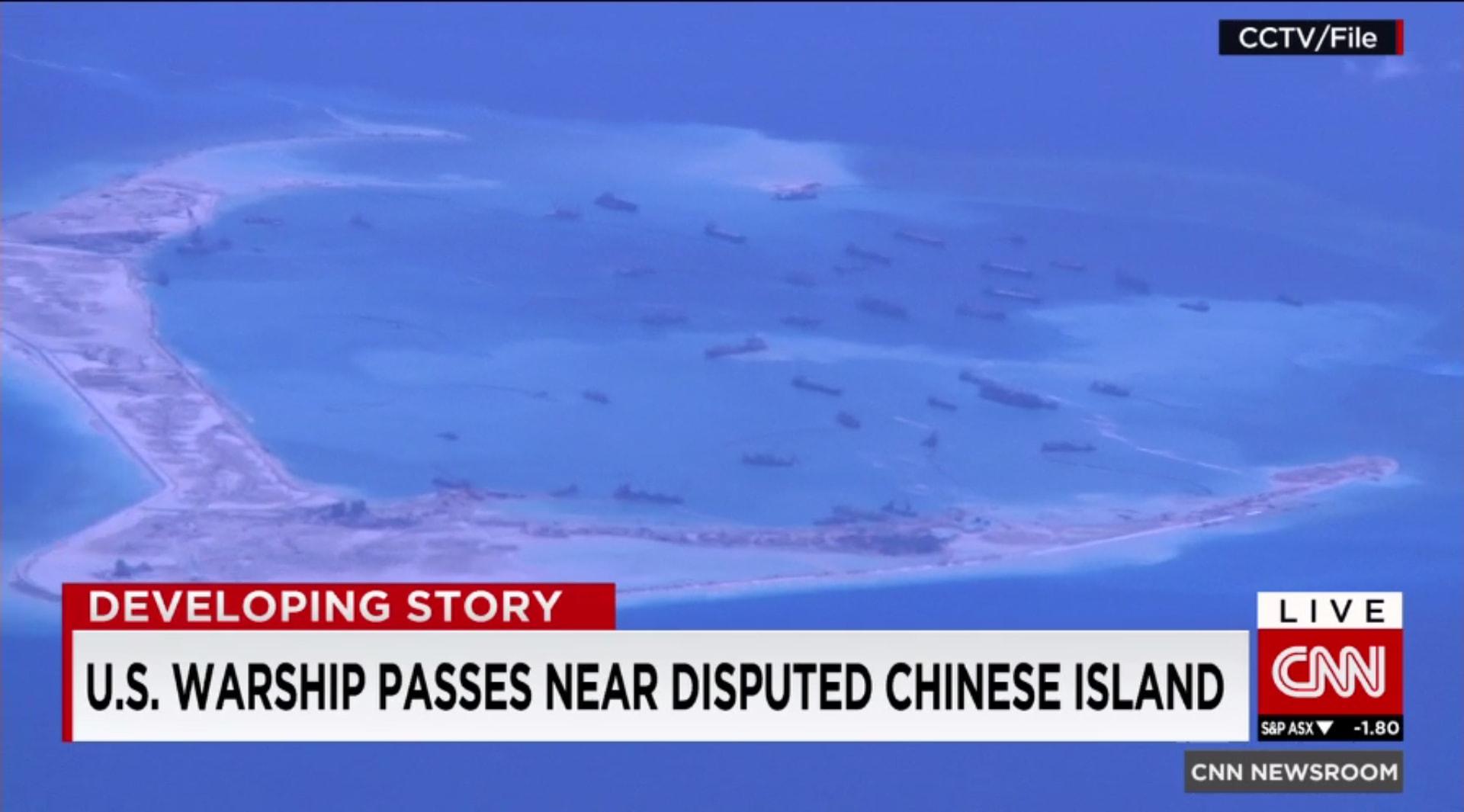 """بكين تشكو مجدداً """"استعراض أمريكا عضلاتها"""" باختراق أجواء متنازع عليها في بحر الصين الجنوبي"""