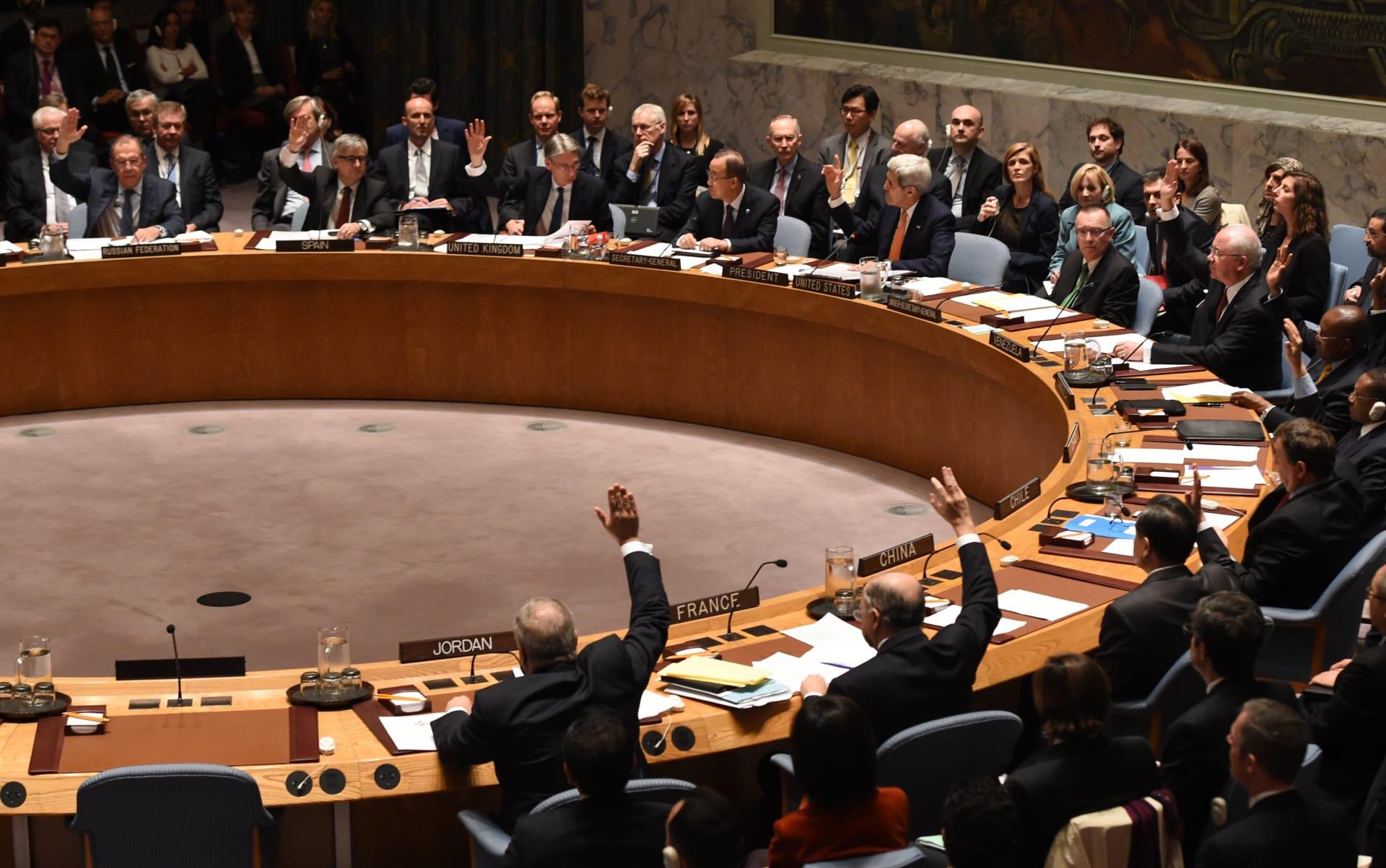 مجلس الأمن يصدر قرارا بدعم الاتفاق السياسي الليبي