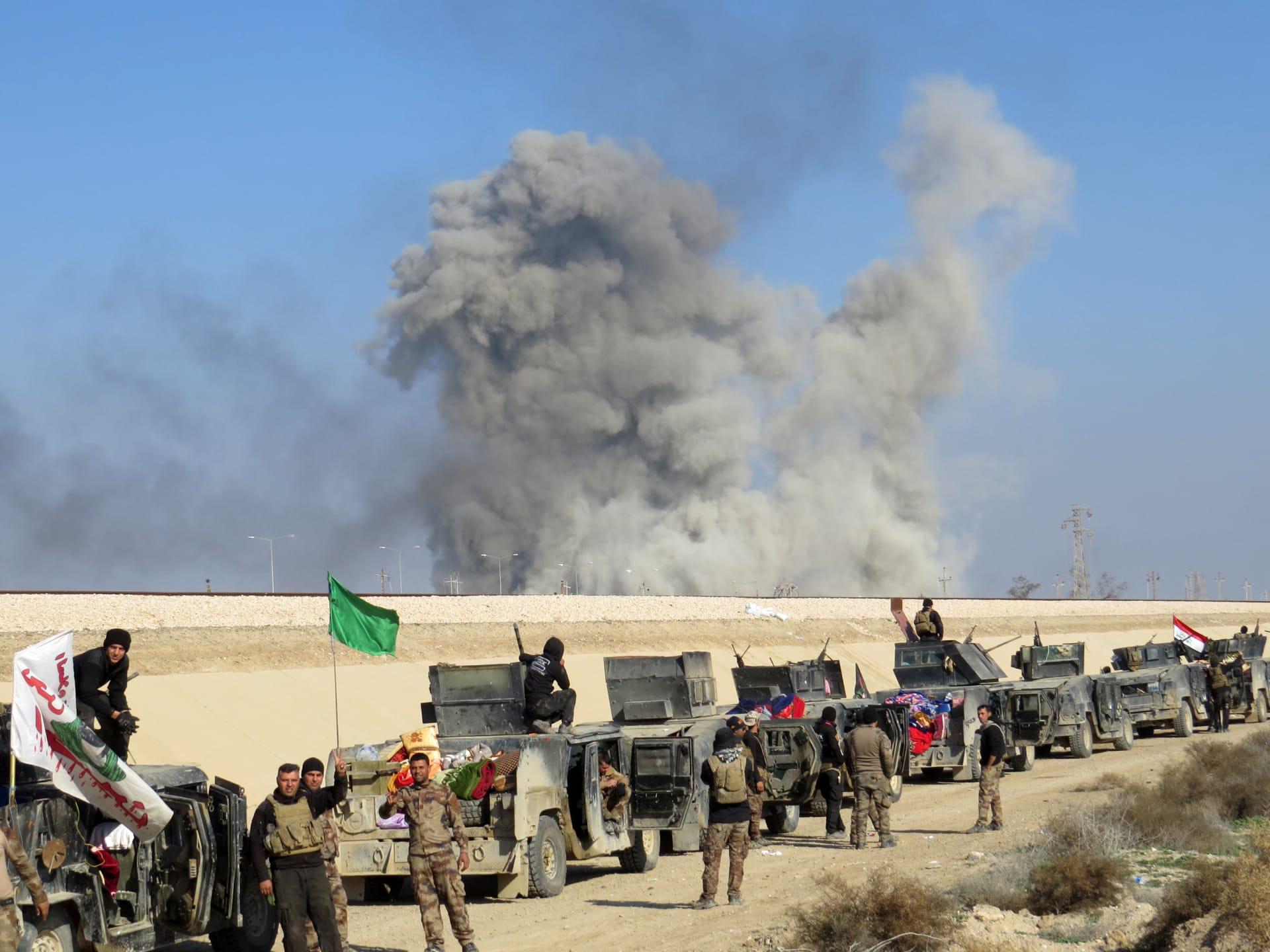 """الجيش العراقي يؤكد """"تحرير"""" مناطق من الرمادي ومقتل واعتقال قياديين بتنظيم """"داعش"""""""