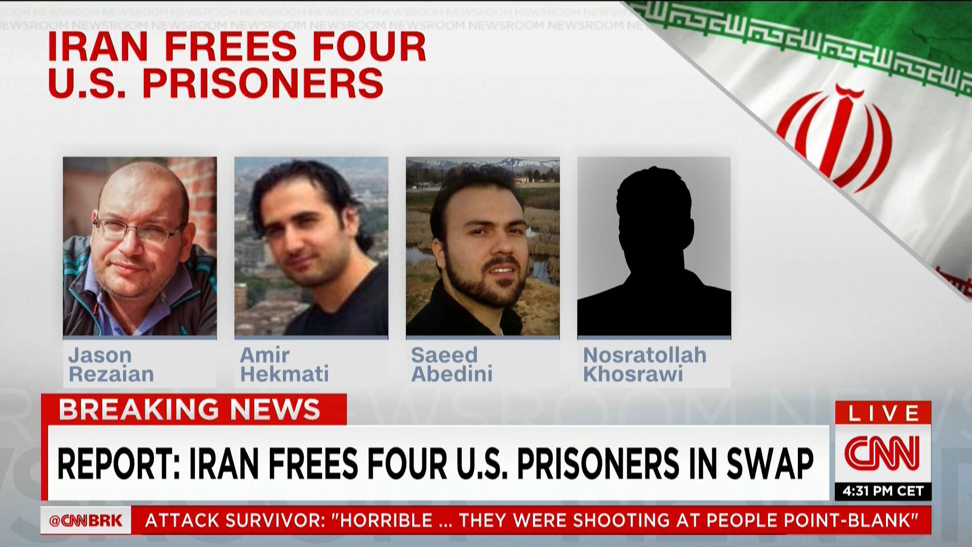 إيران: وجهة الطائرة التي تقل السجناء المفرج عنهم هي جنيف وليس سلطنة عمان