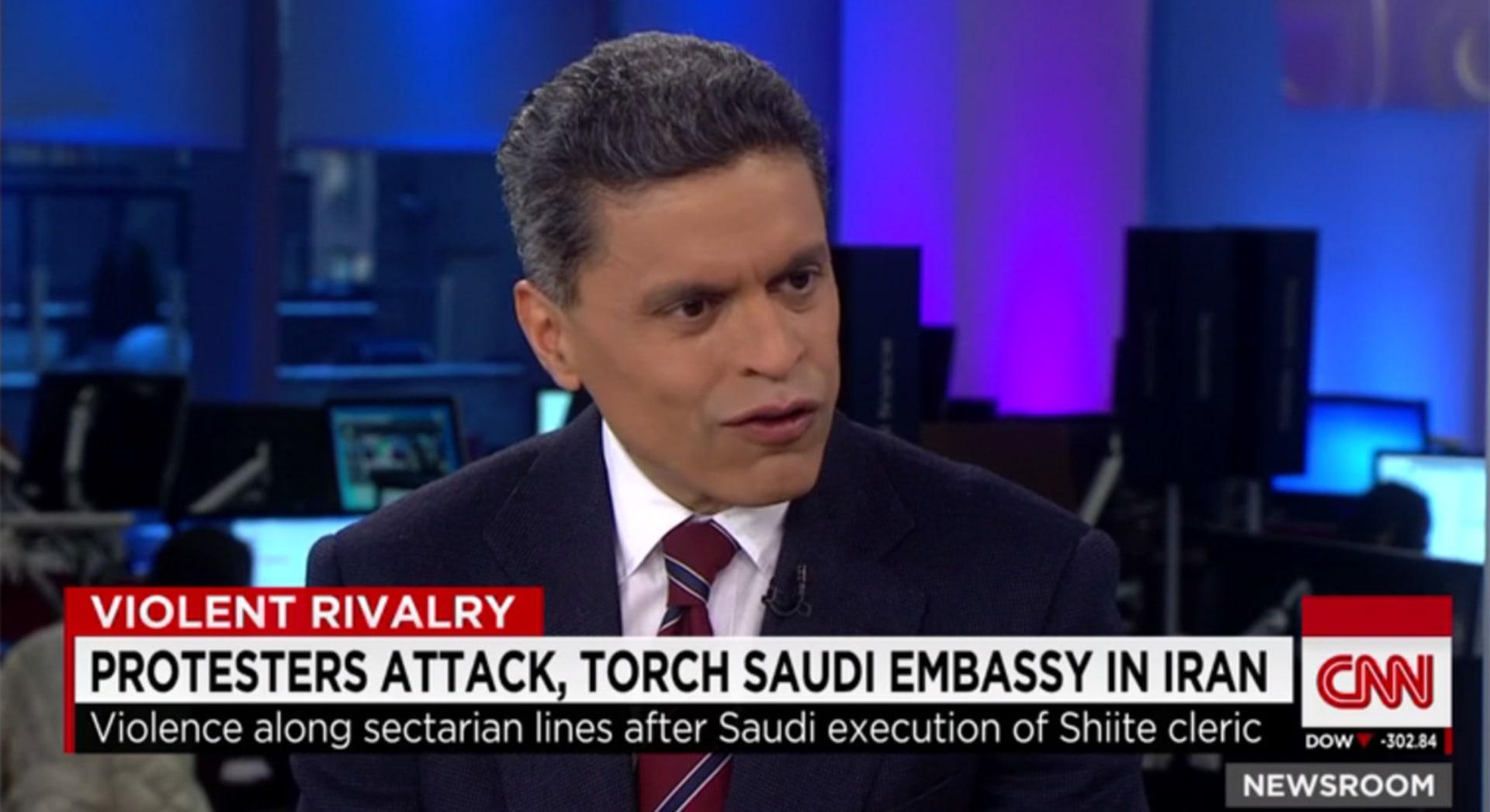 التوتر بين الرياض وطهران.. زكريا لـCNN: السنة يشكلون 85% من المسلمين.. وعلى أمريكا دعم السعودية بوجه إيران