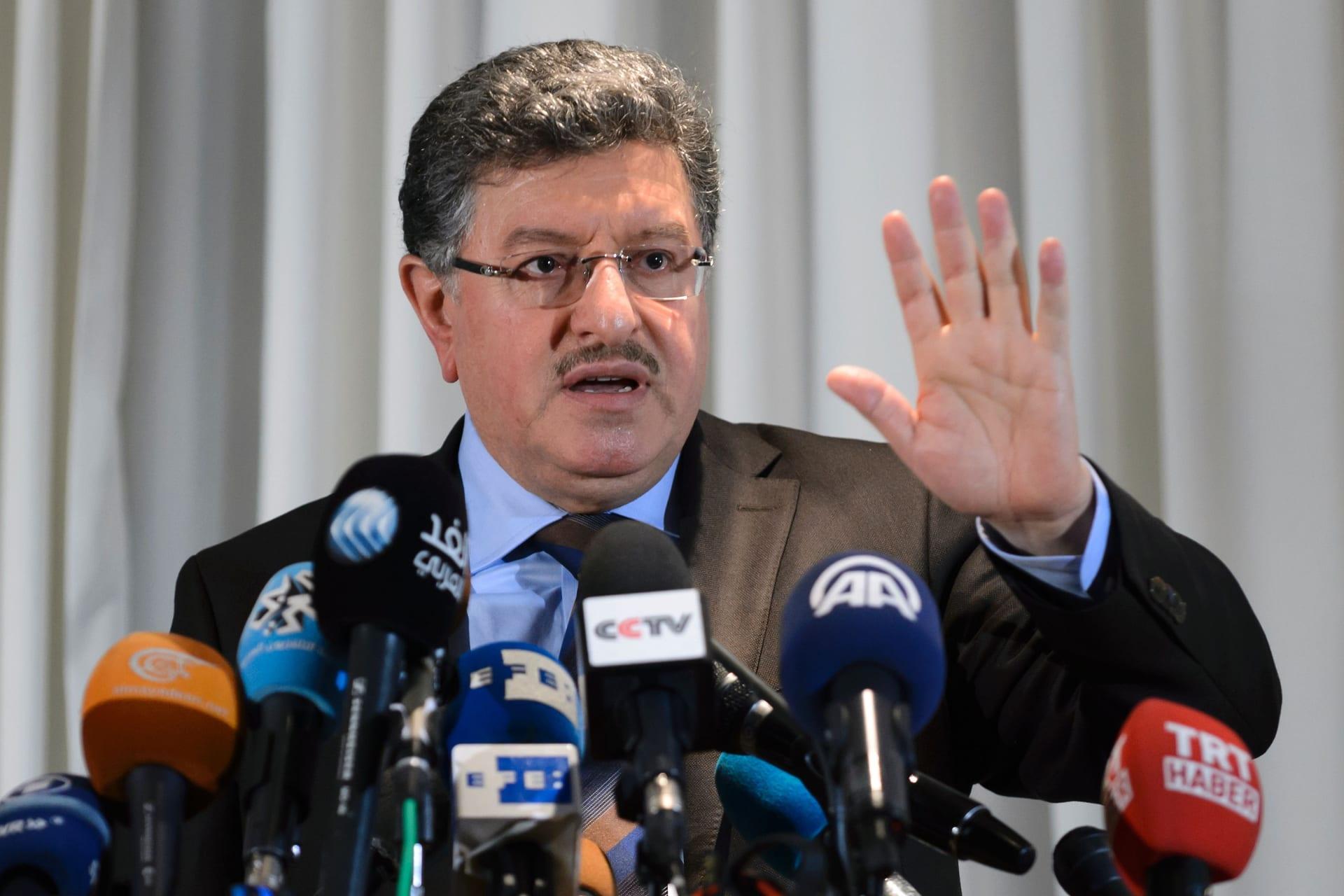 المعارضة السورية في جنيف: وفدنا يجتمع الآن مع دي ميستورا.. وجئنا لوضع حد لمعاناة الشعب السوري