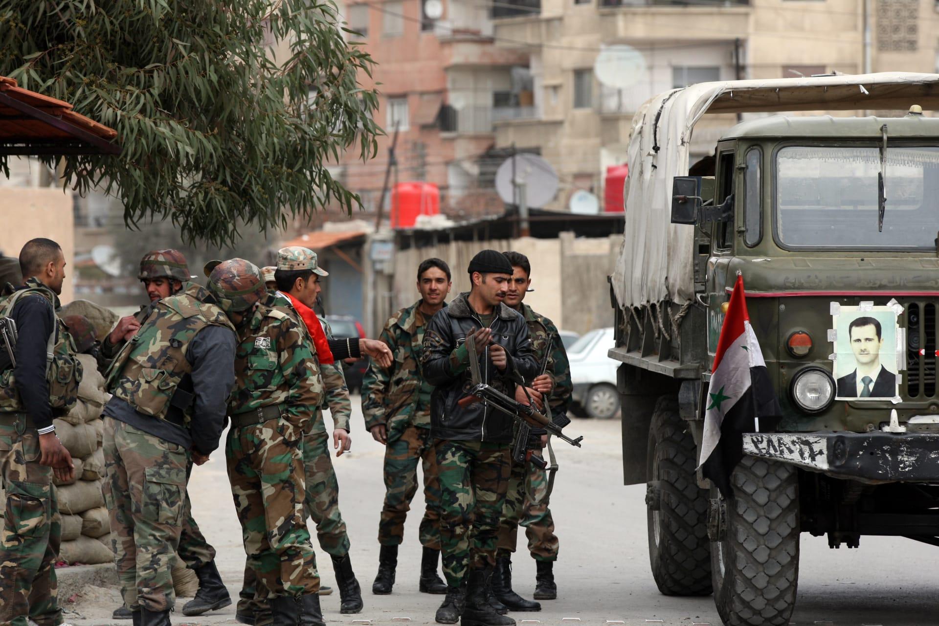 """جيش النظام السوري: فككنا الحصار عن حلب وكبدنا """"جبهة النصرة"""" و""""داعش"""" خسائر في عدة مناطق"""