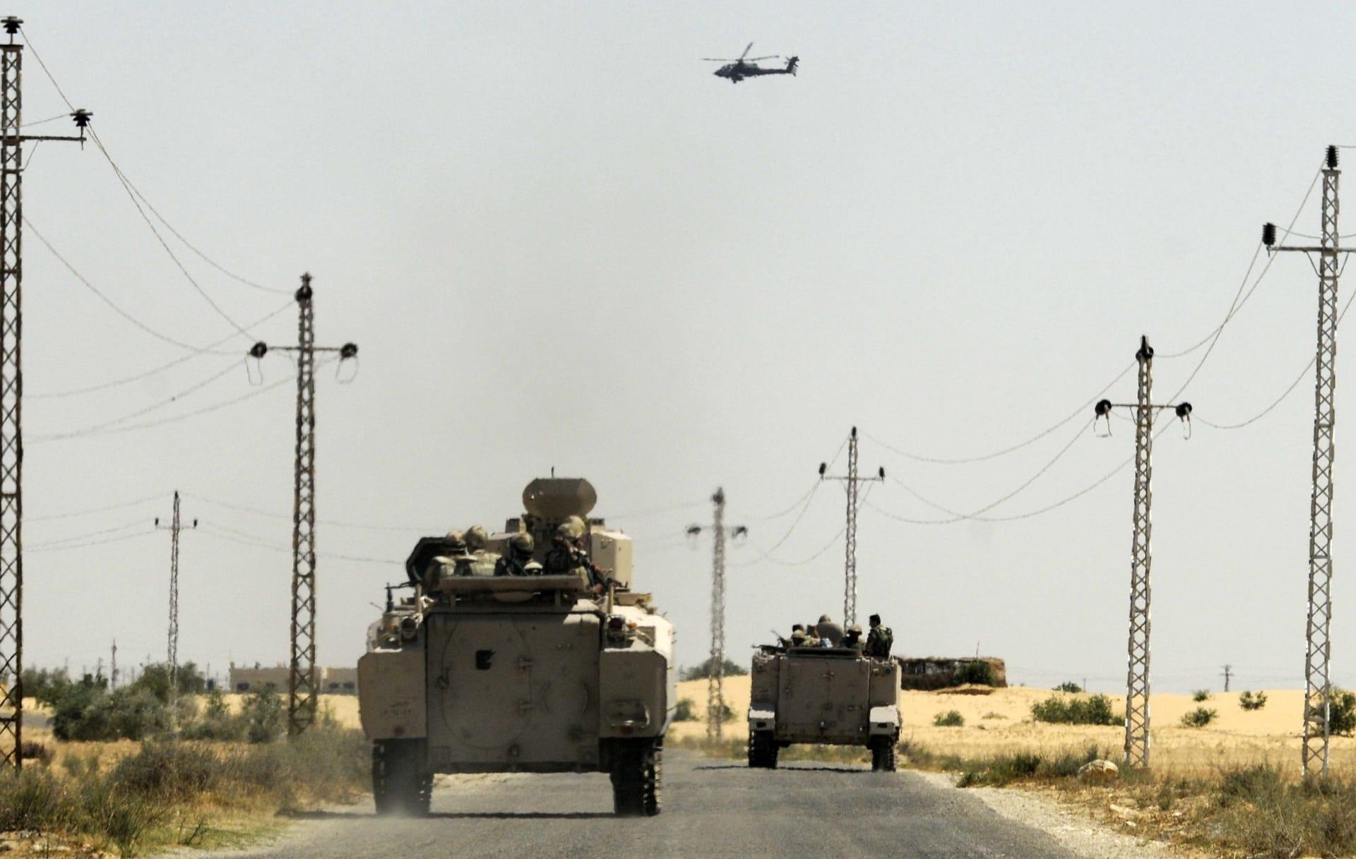 """مسؤول أمريكي: مهام جديدة قد توكل إلى القوات الأمريكية في سيناء لجمع معلومات استخباراتية عن """"داعش"""""""
