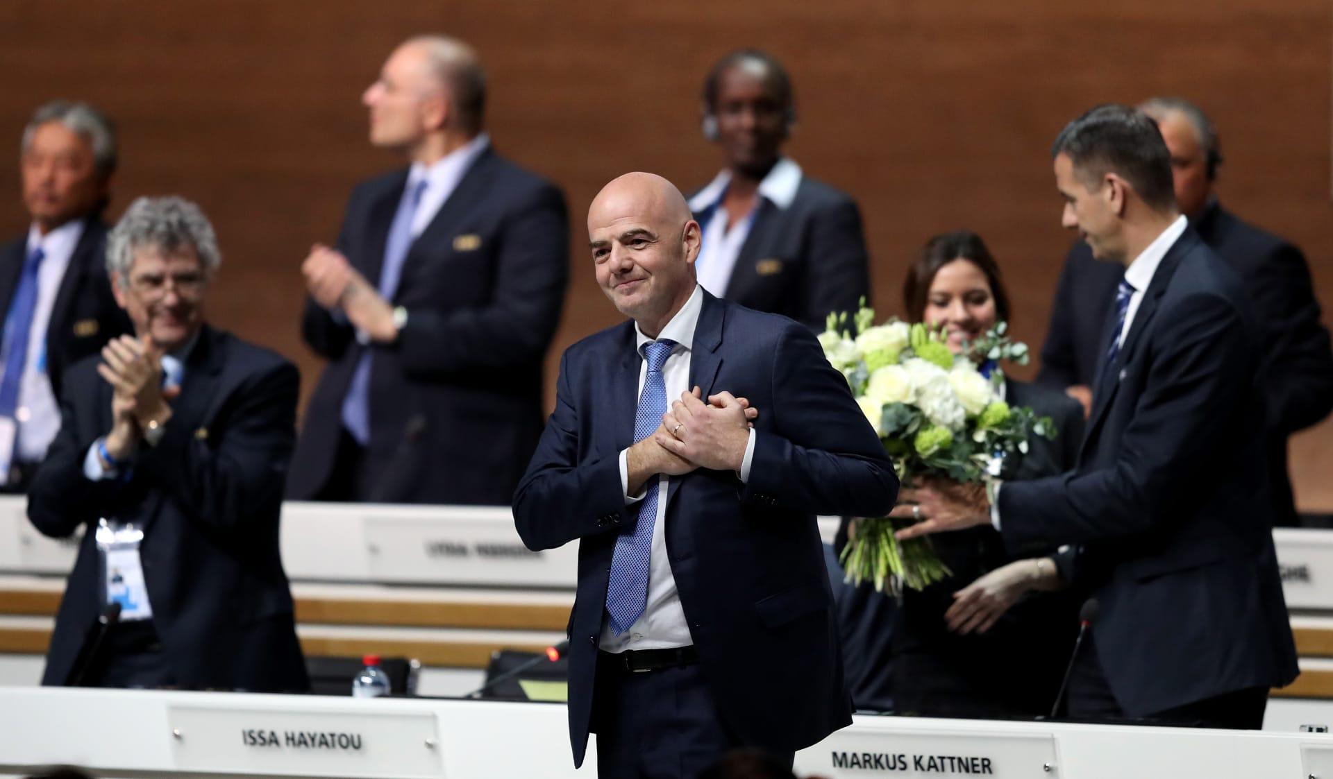من هو جياني انفانتينو... الرئيس الجديد للفيفا؟