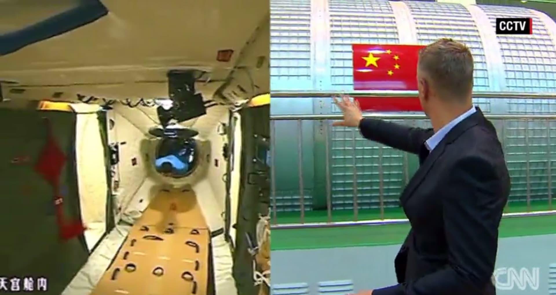 الصين تعتزم إنشاء محطة فضائية بحلول عام 2020