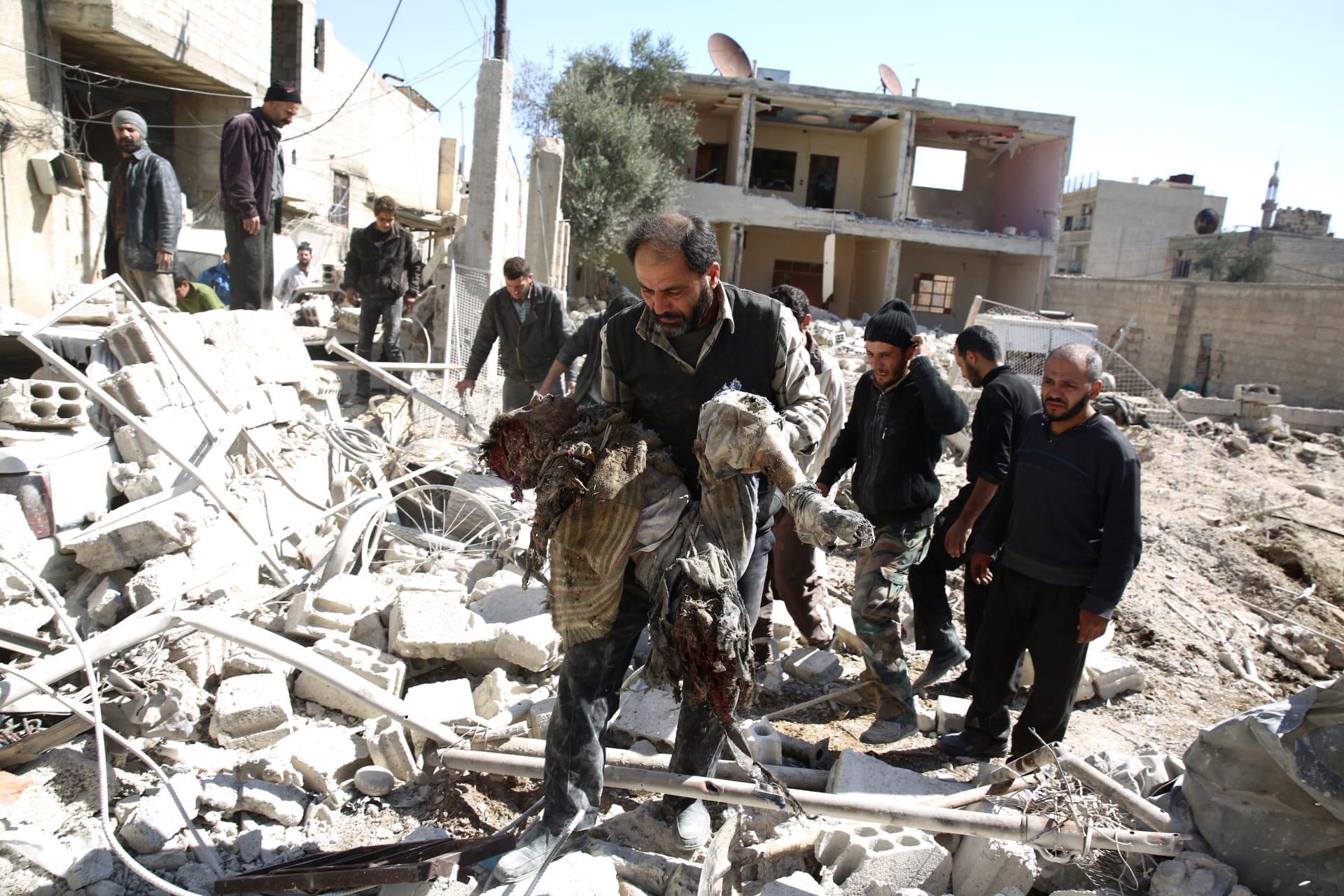 """في يوم إعلان سريان بداية """"وقف الأعمال العدائية"""".. المرصد: حصيلة قتلى سوريا 183 شخصا منهم 89 عضوا في """"داعش"""""""