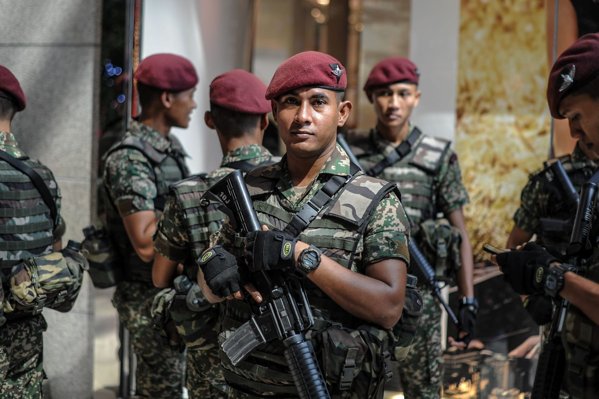 """ماليزيا تحبط مخطط """"داعش"""" لخطف رئيس الوزراء ووزيري الدفاع والشؤون الداخلية"""