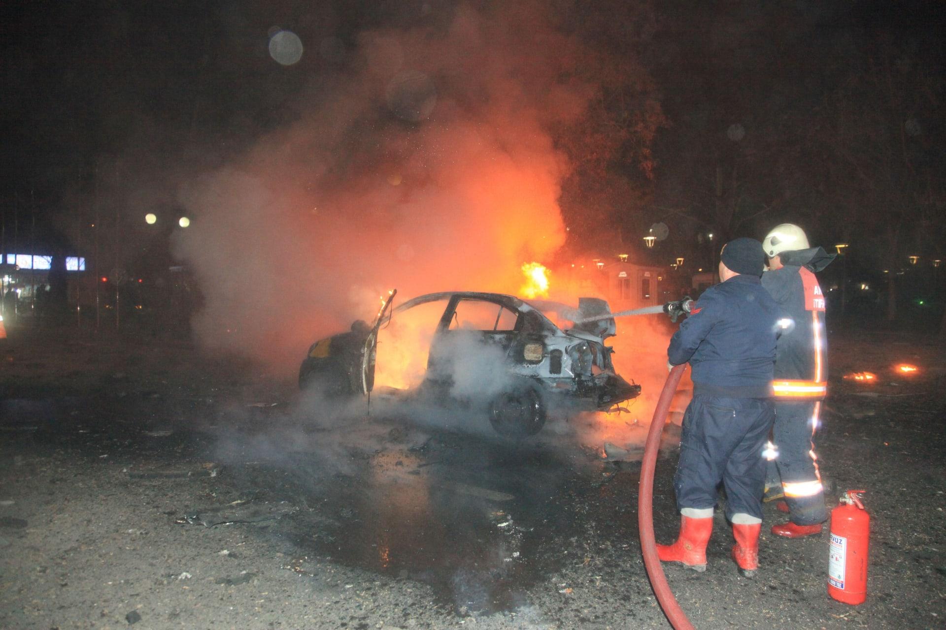 تركيا: احتجاز 29 شخصا لاتصالهم بتفجير أنقرة.. وأردوغان يتعهد: سنُرضخ الإرهاب