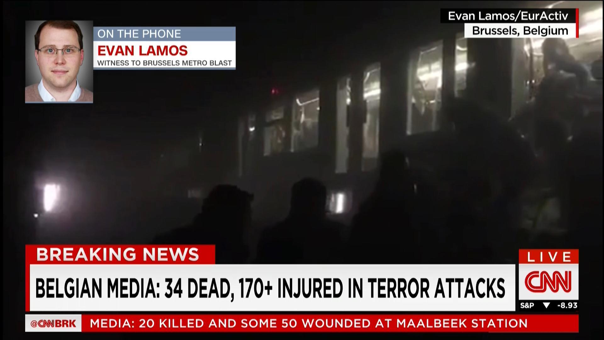 الإعلام البلجيكي: العثور على بندقية كلاشينكوف في المطار وأنباء عن تفجير آخر سُيطر عليه بالمطار بوجود فريق المتفجرات