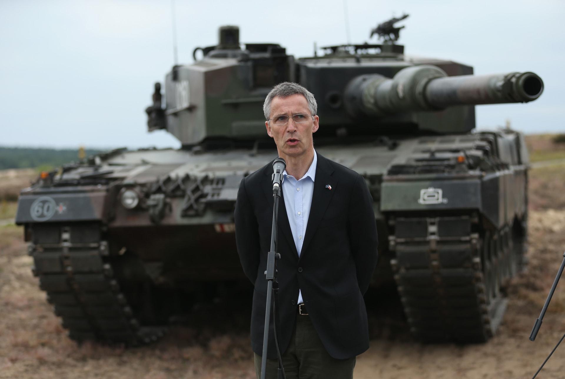 الناتو يؤكد: بروكسل موطن مقر حلفنا وسنحمي قيمنا ضد من يستهدفها.. وملك وملكة بلجيكا يزوران ضحايا التفجيرات
