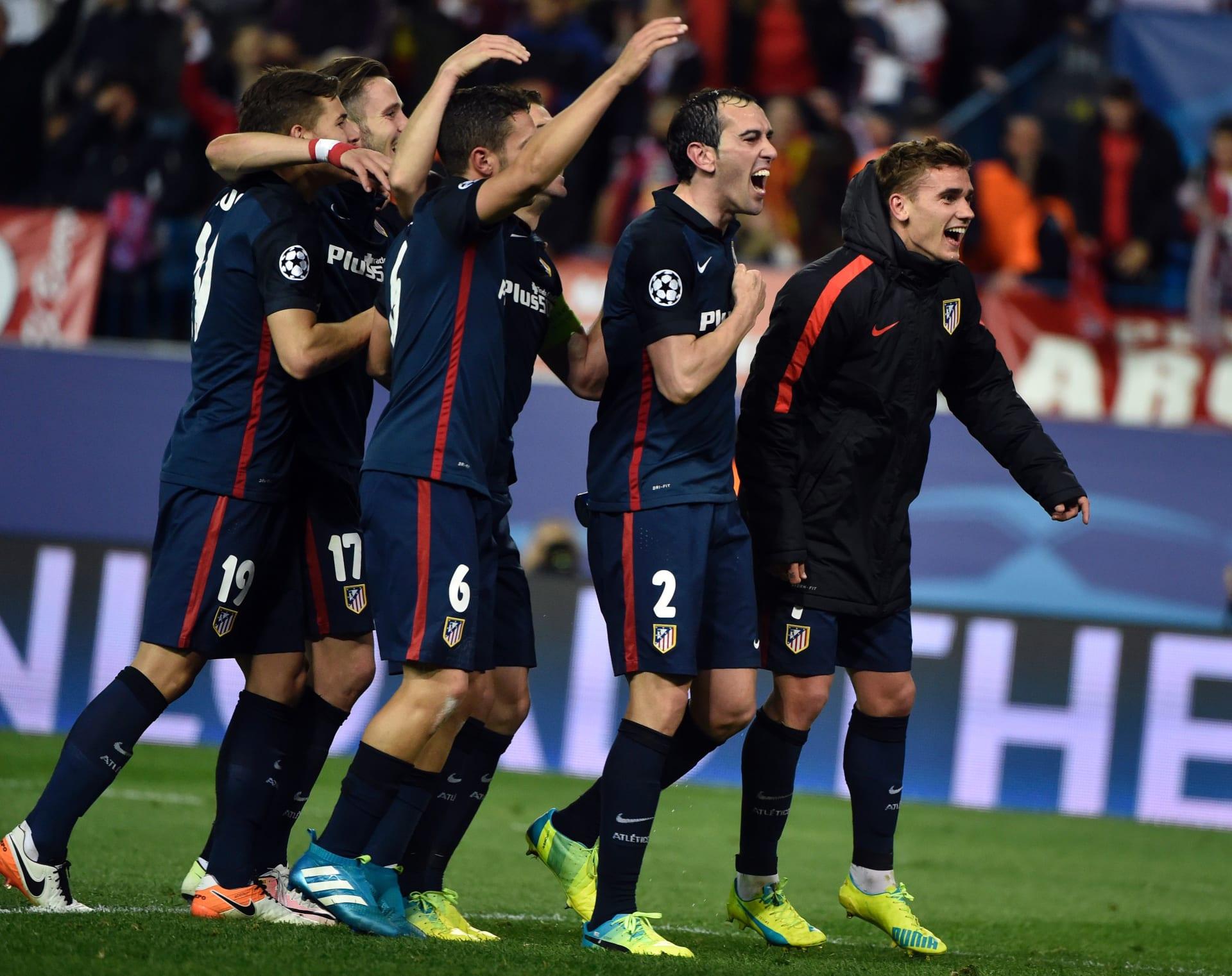 أتلتيكو يقصي برشلونة للمرة الثانية والبايرن بين الأربعة الكبار
