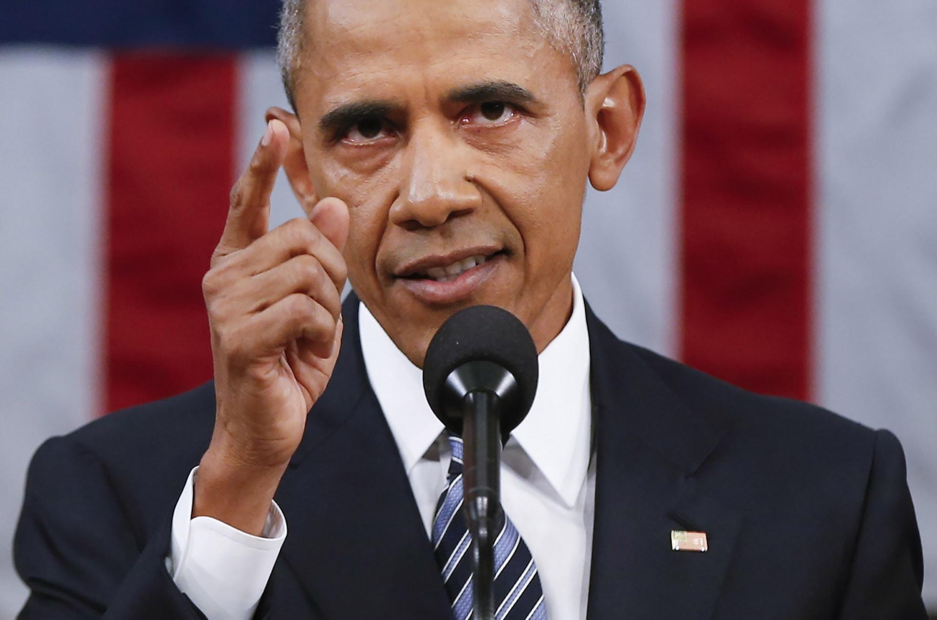 أوباما: استخدام قوات برية للإطاحة بالأسد سيكون خطأ.. وبوسعنا الضغط على روسيا وإيران لتسوية الأزمة السورية سياسيا