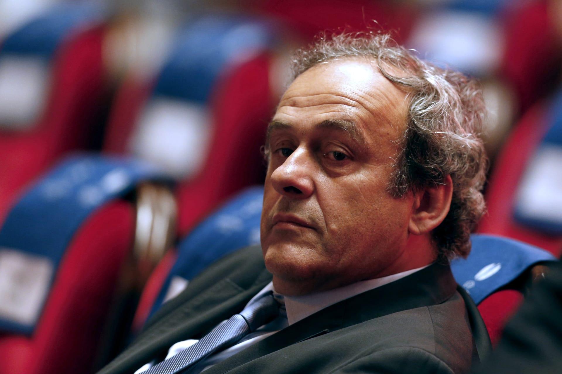 محاموه لـCNN: بلاتيني يقرر الاستقالة من رئاسة الاتحاد الأوروبي لكرة القدم
