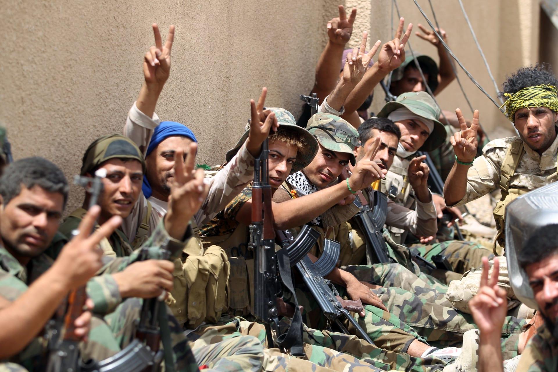 العبادي: الحشد الشعبي تحت إمرة الدولة ودعم أبناء العشائر المقاتلة أساسي لتحرير الفلوجة