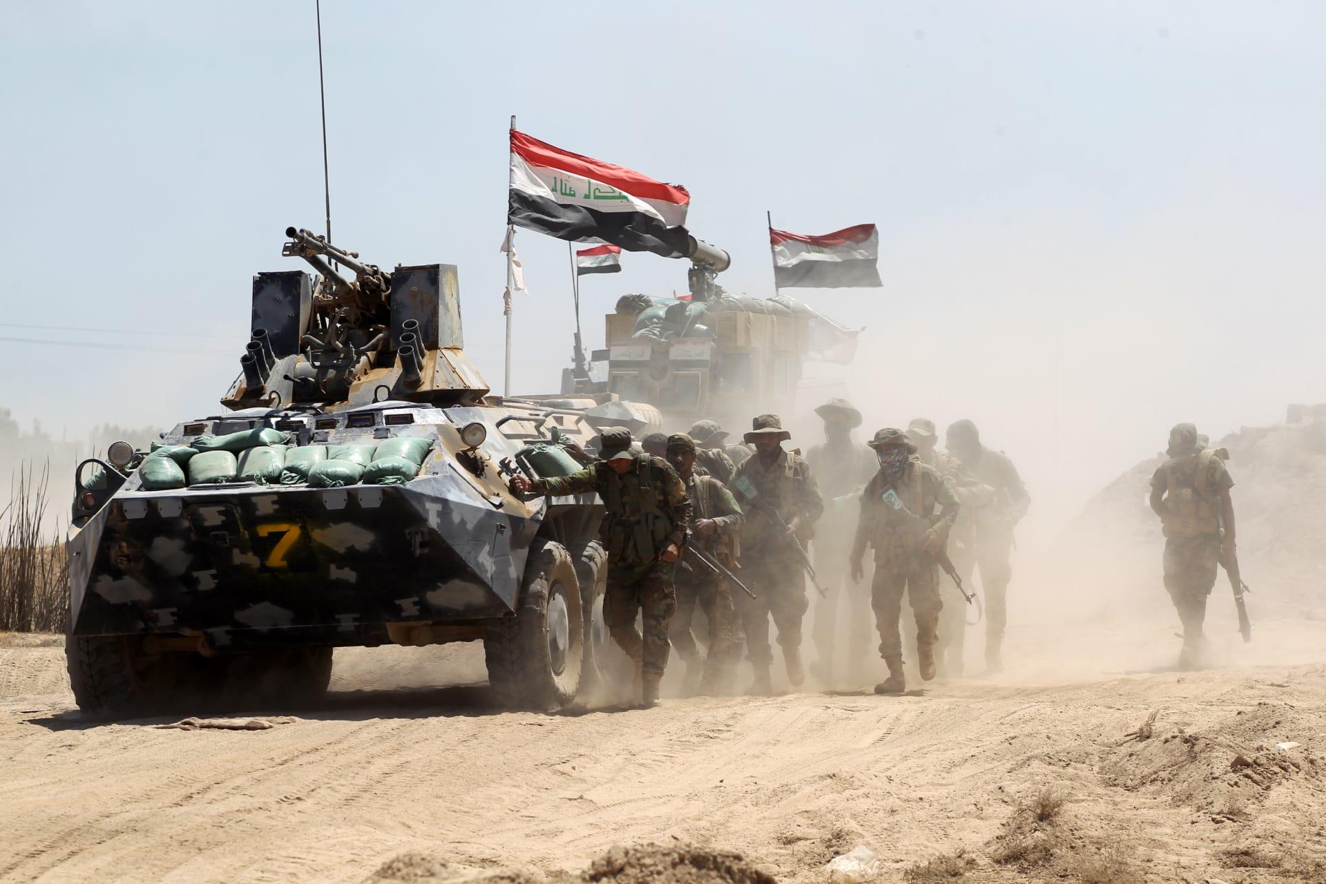 بالفيديو.. الدفاع العراقي: قواتنا تكبد داعش خسائر كبيرة بالأرواح والمعدات بالمحور الشرقي لتحرير الفلوجة
