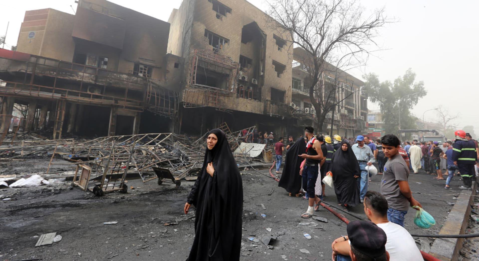 واشنطن تدين انفجار الكرادة.. وتؤكد: هجمات داعش تقوي عزيمتنا لدعم العراق والقضاء على التنظيم