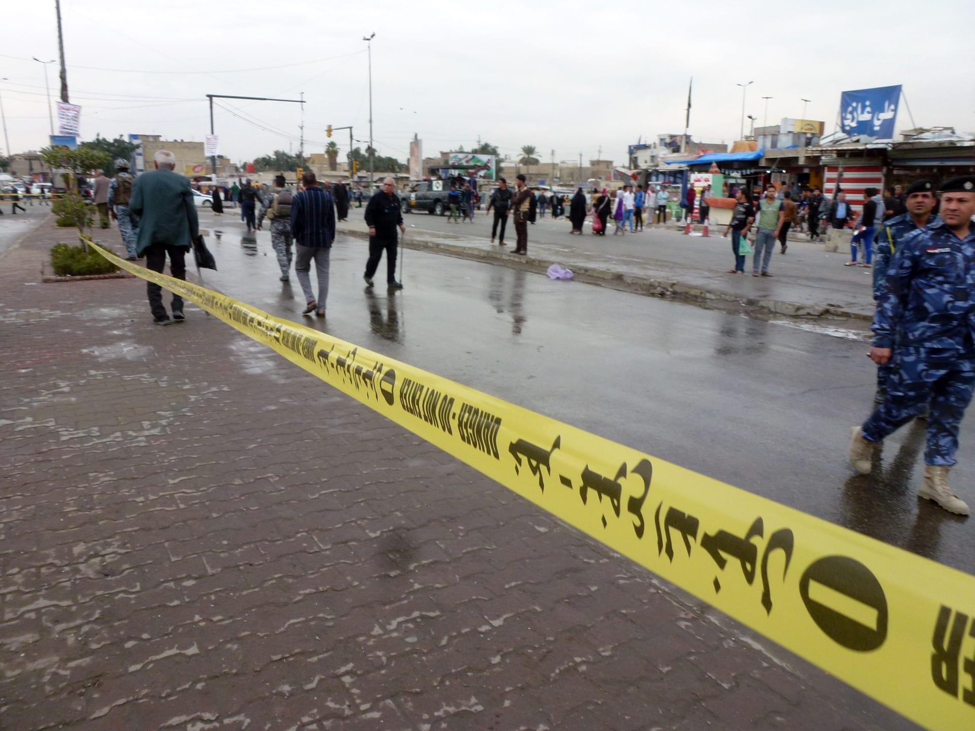 تفجيران انتحاريان يخلفان 12 قتيلا و44 جريحا في بغداد