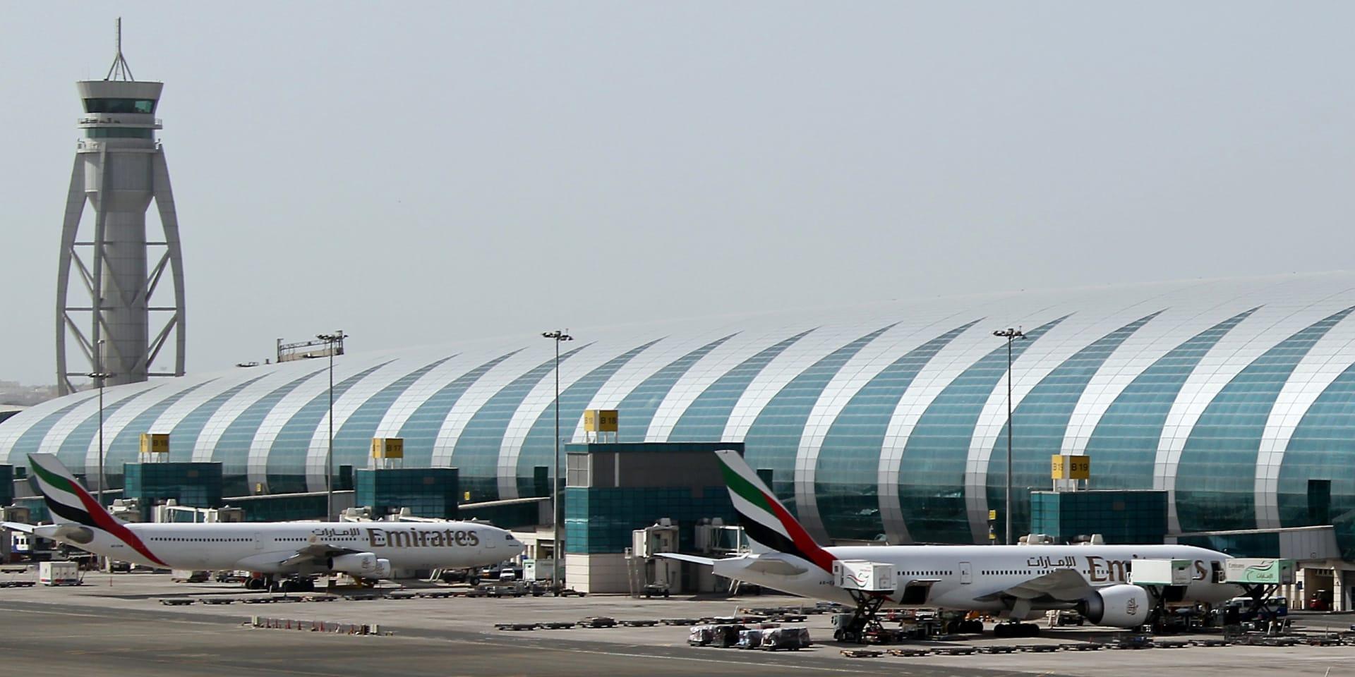 """مطار دبي يغلق مجاله الجوي إثر """"نشاط غير مصرح له لطائرة بدون طيار"""""""