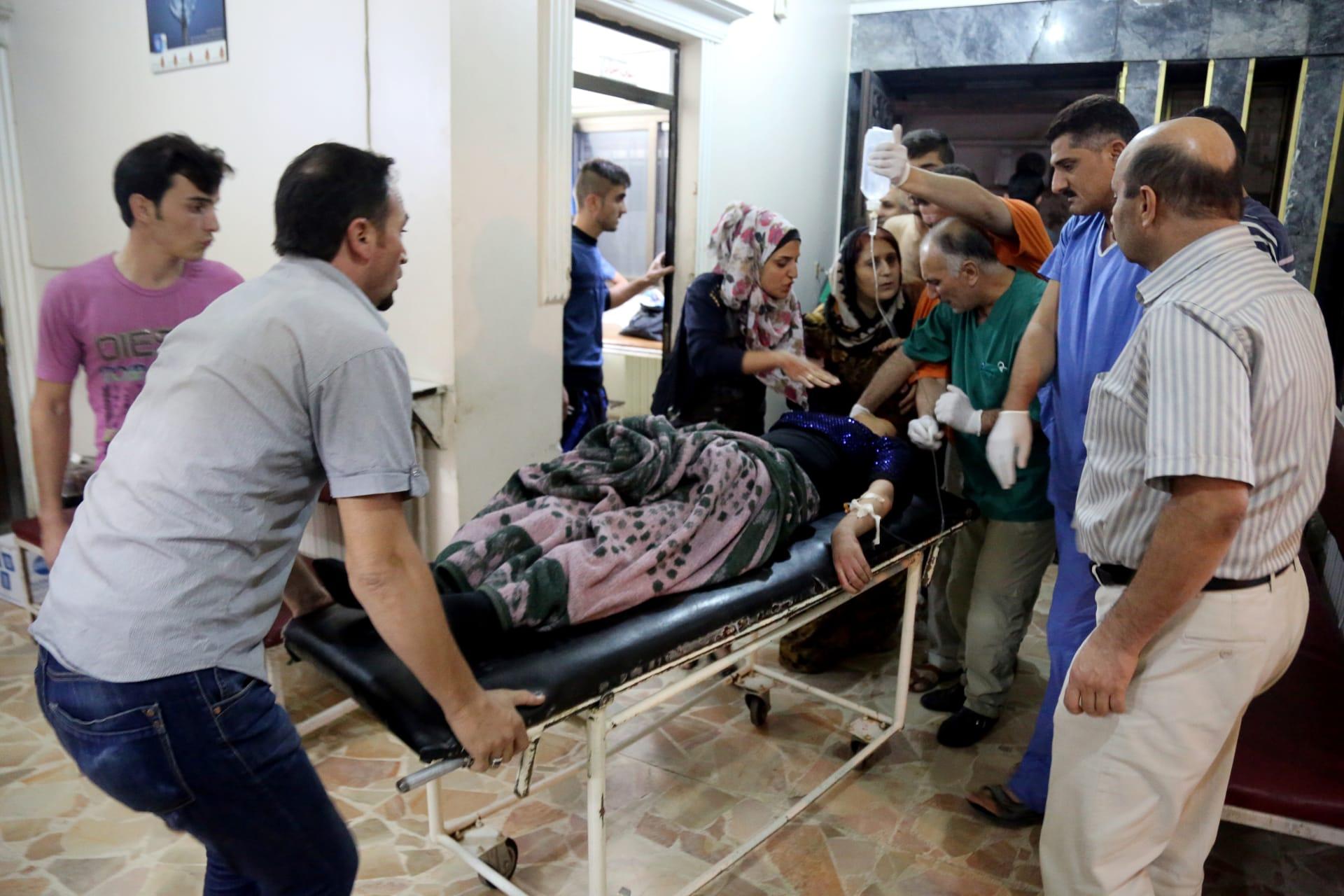 داعش يتبنى تفجيراً انتحاريًا بحفل زفاف كردي بسوريا
