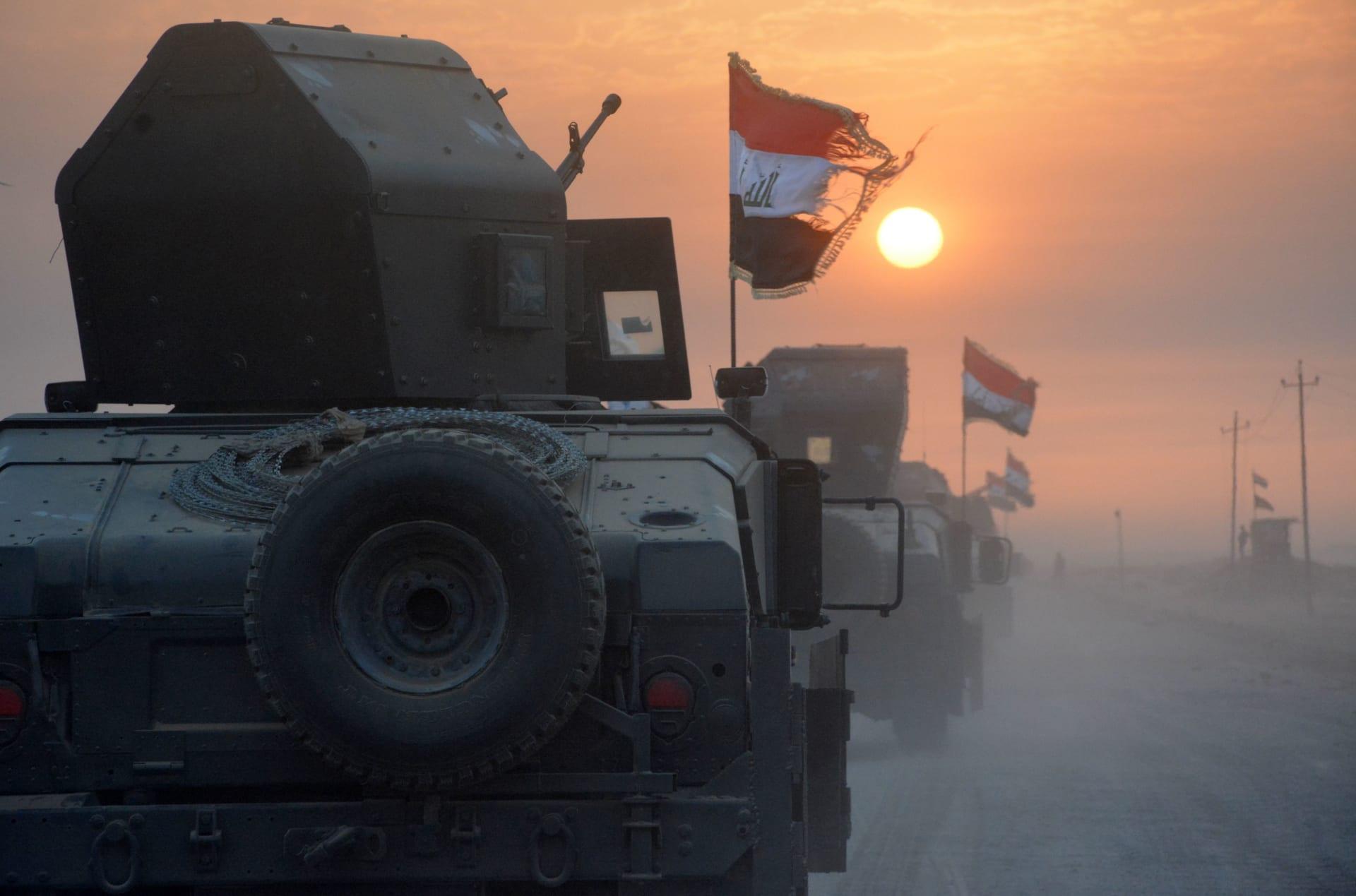 القوات العراقية يتأهب لاستعادة الموصل... ومنشورات تنذر السكان
