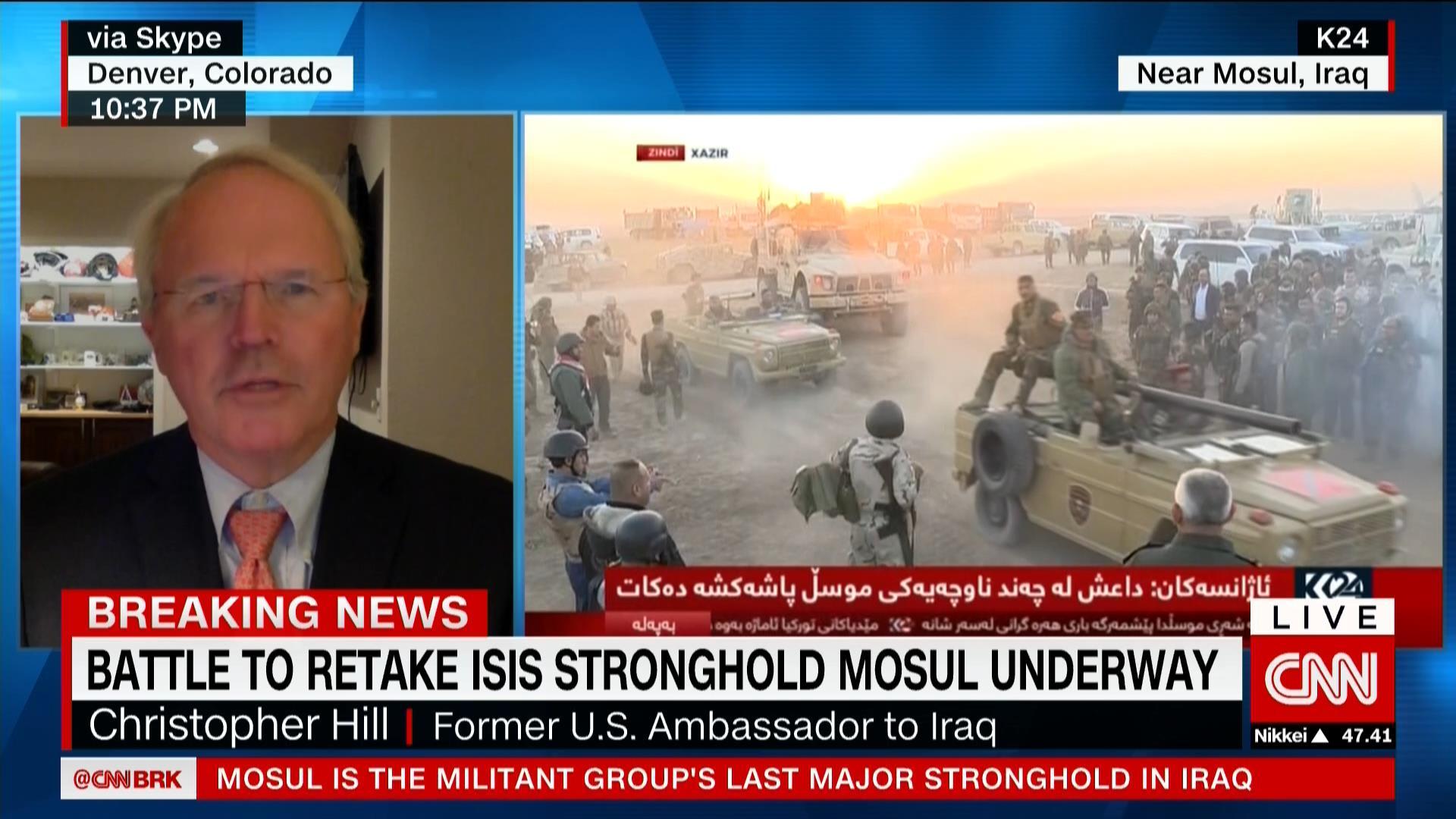 القيادة المركزية الأمريكية للتحالف الدولي ضد داعش: جميع القوات البرية بالموصل عراقية