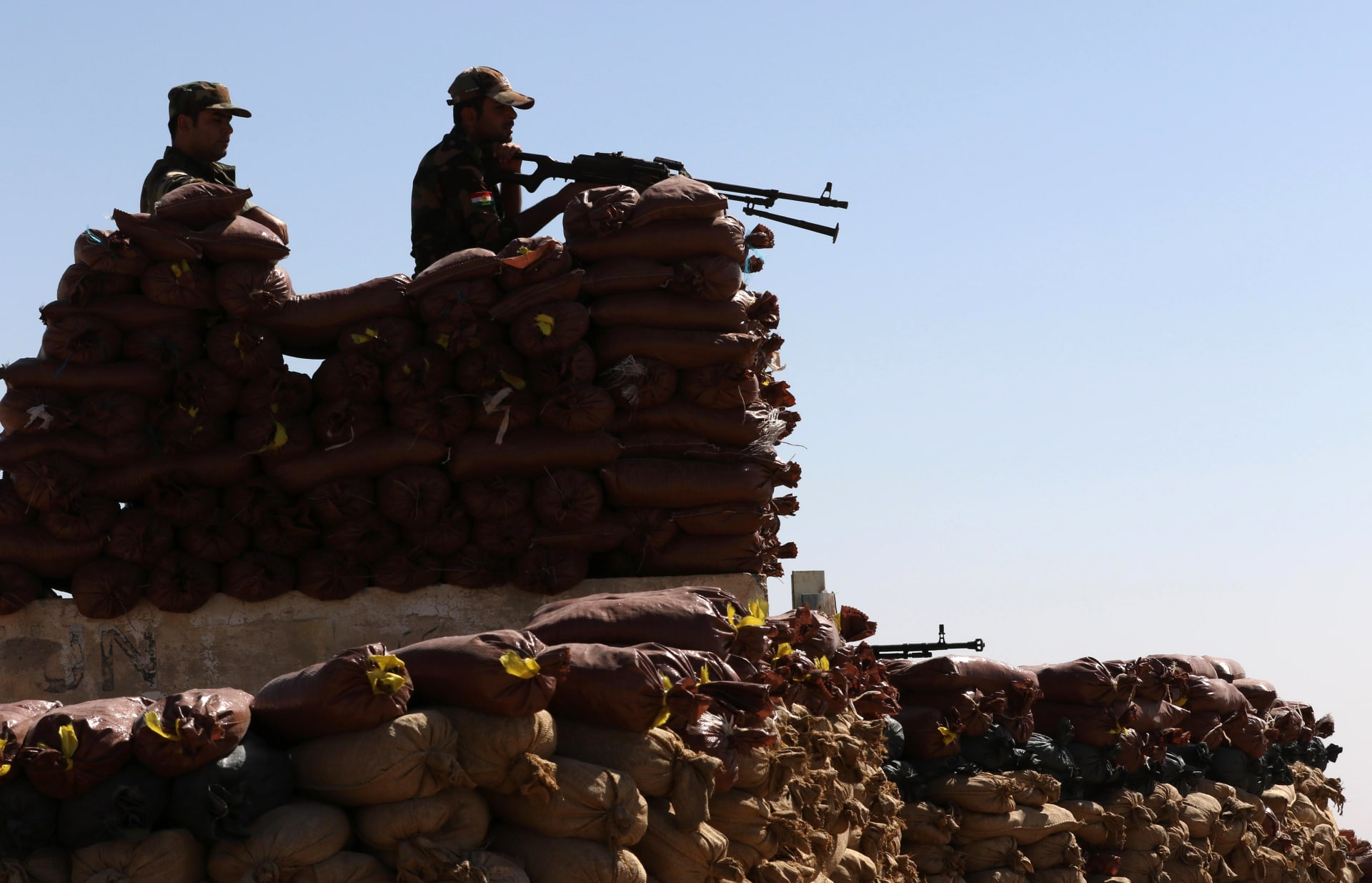 قيادة البشمرغة تكشف تفاصيل مشاركة قواتها في معركة تحرير الموصل.. والعبادي: دقت ساعة التحرر من داعش