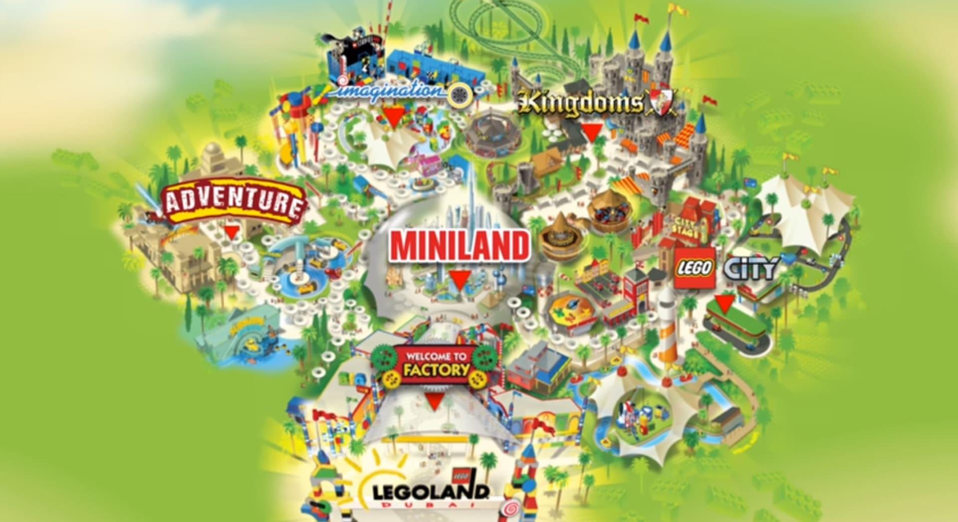 """جولة خاطفة في مدينة """"Legoland"""" في دبي قبل افتتاحها"""