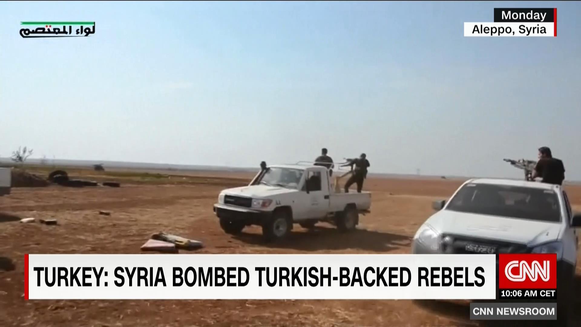 """لأول مرة منذ انطلاق """"درع الفرات"""".. جيش الأسد يستهدف """"الجيش الحر"""" المدعوم من تركيا"""