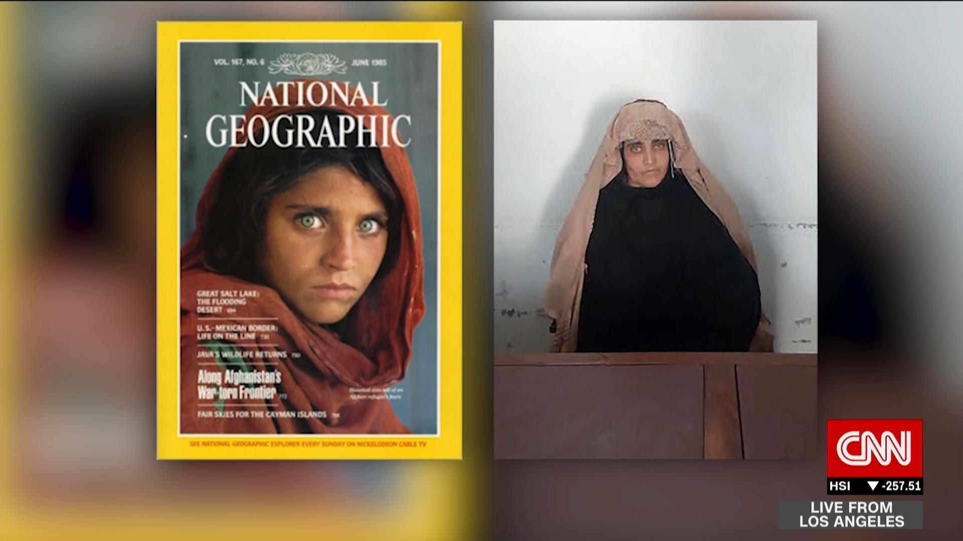 """هل تذكرون """"موناليزا الأفغانية""""؟ هي الآن في سجن باكستاني"""