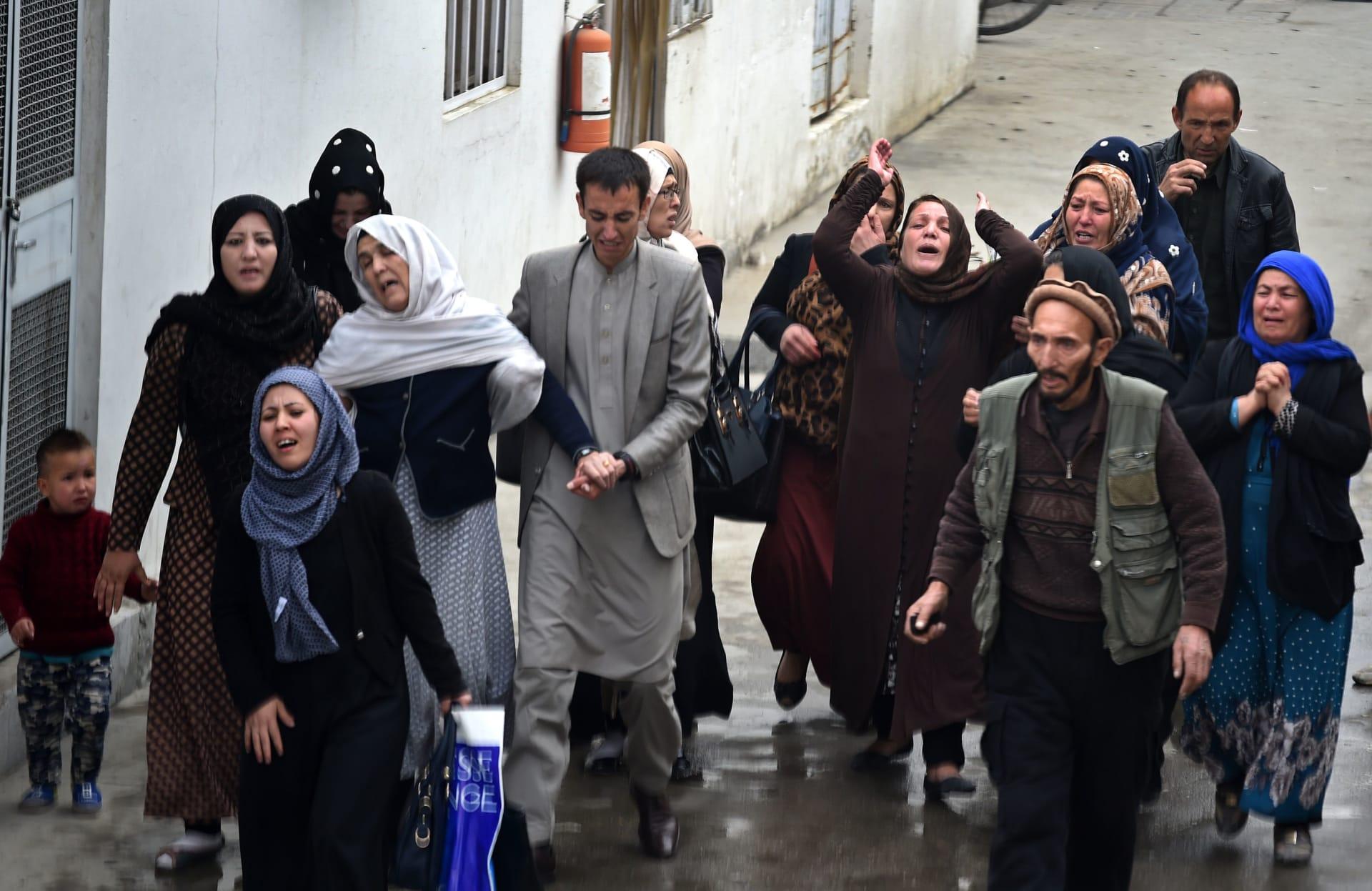 """داعش يزعم مسؤولية هجوم انتحاري على مسجد للشيعة في أفغانستان خلال مراسم """"أربعينية الإمام الحسين"""""""