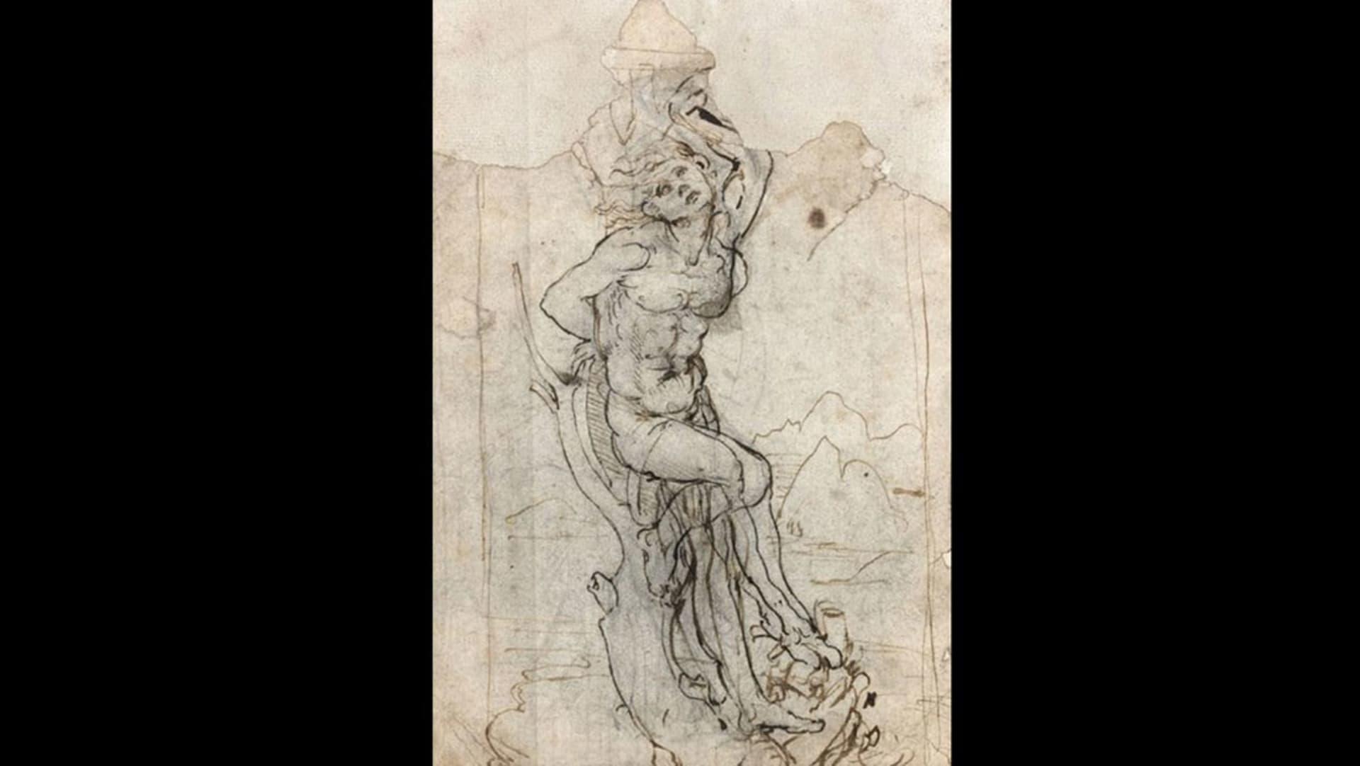اكتشاف لوحة قديمة للفنان دا فينشي قيمتها 16 مليون دولار