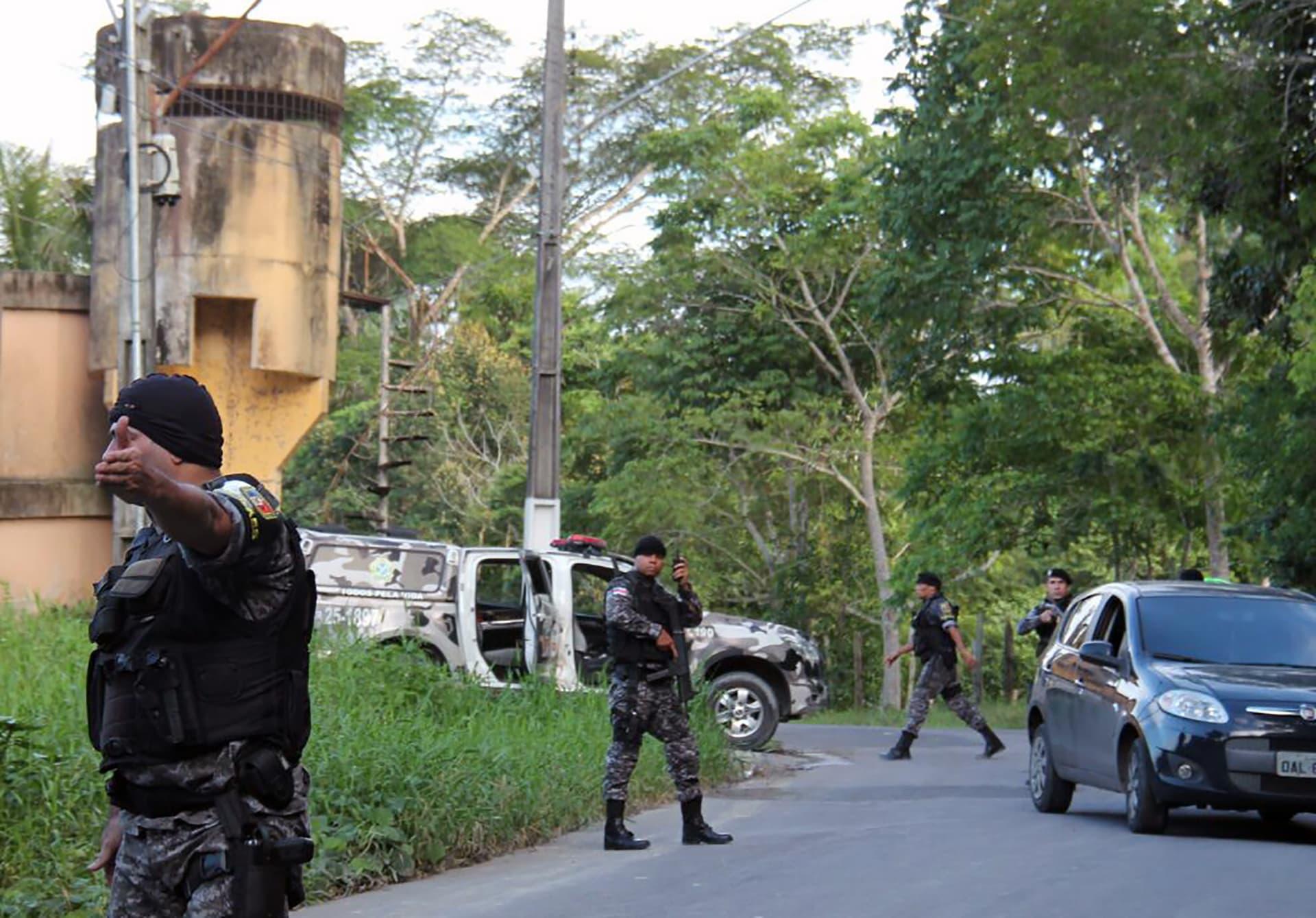 البرازيل: مقتل 33 سجيناً إثر أعمال شغب في سجن