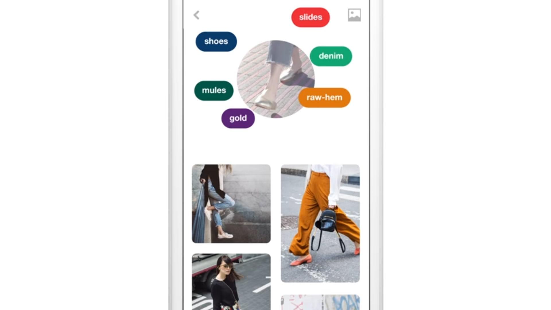 """موقع Pinterest يطلق """"عدسة"""" تتعرف على الأغراض وتساعدك على شرائها"""