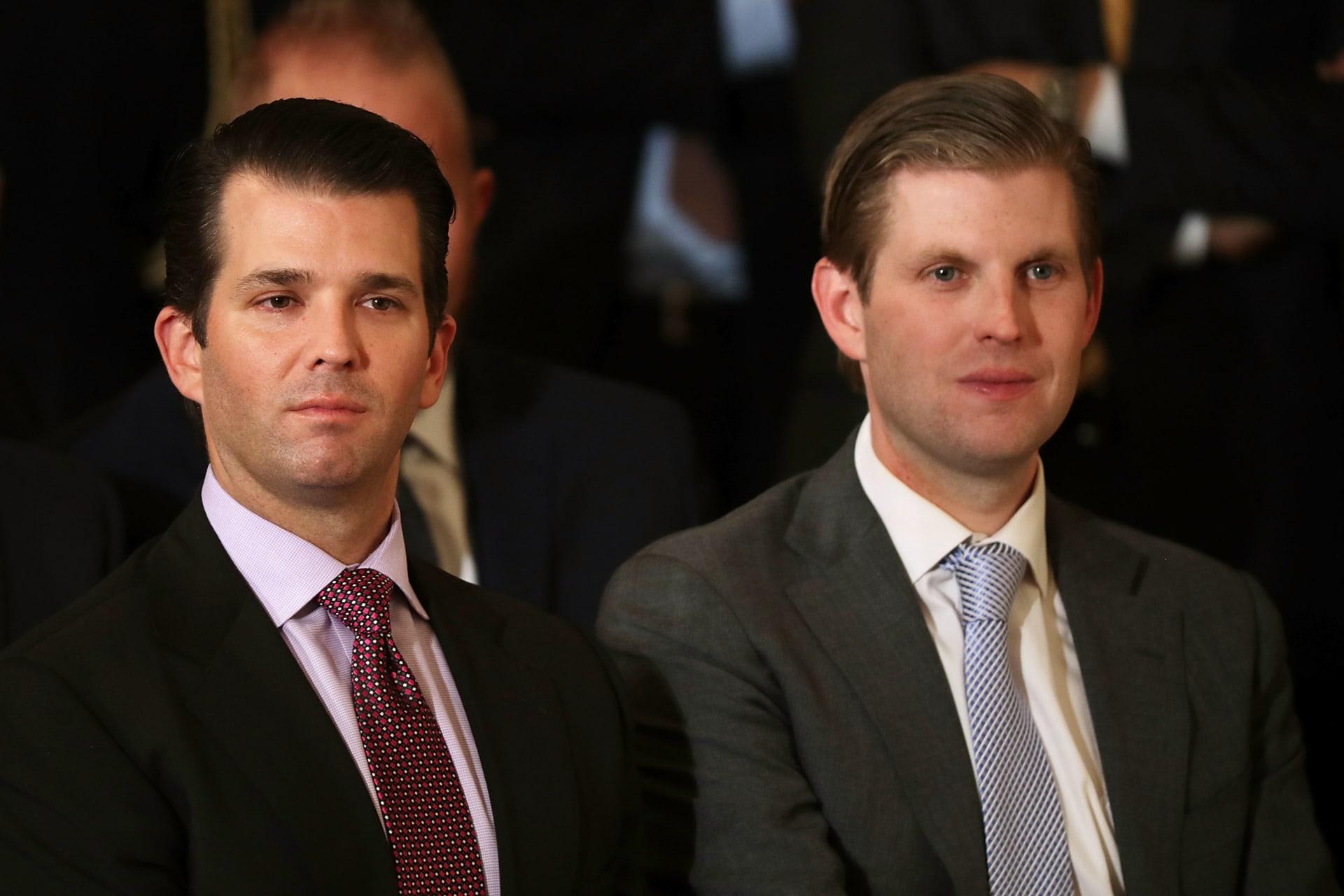 """ابنا رئيس أمريكا يزوران دبي لافتتاح ملعب ترامب للغولف.. و""""داماك"""" تعد بأمسية """"لن تُنسى"""""""