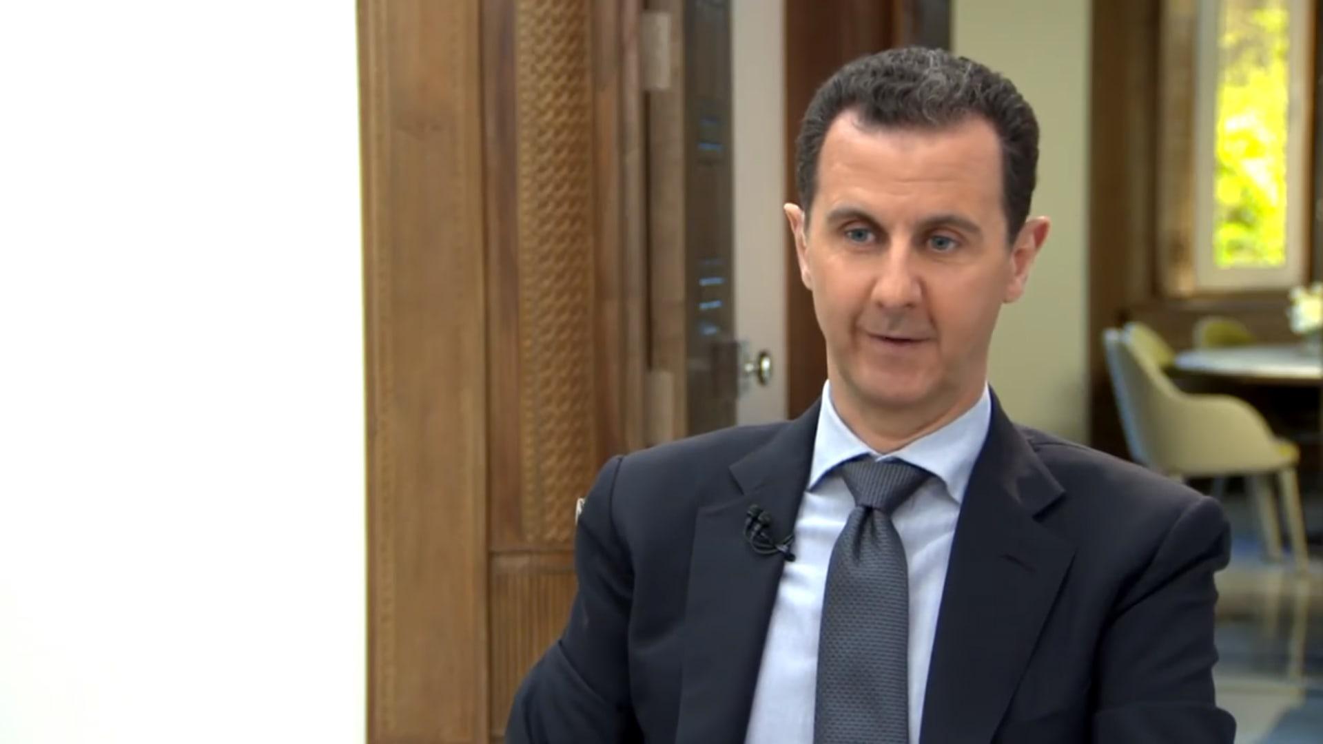 """الأسد: أنا """"الشيطان"""" في رواية الإعلام الغربي.. وترامب رهن إشارة مؤسسات أمريكا"""