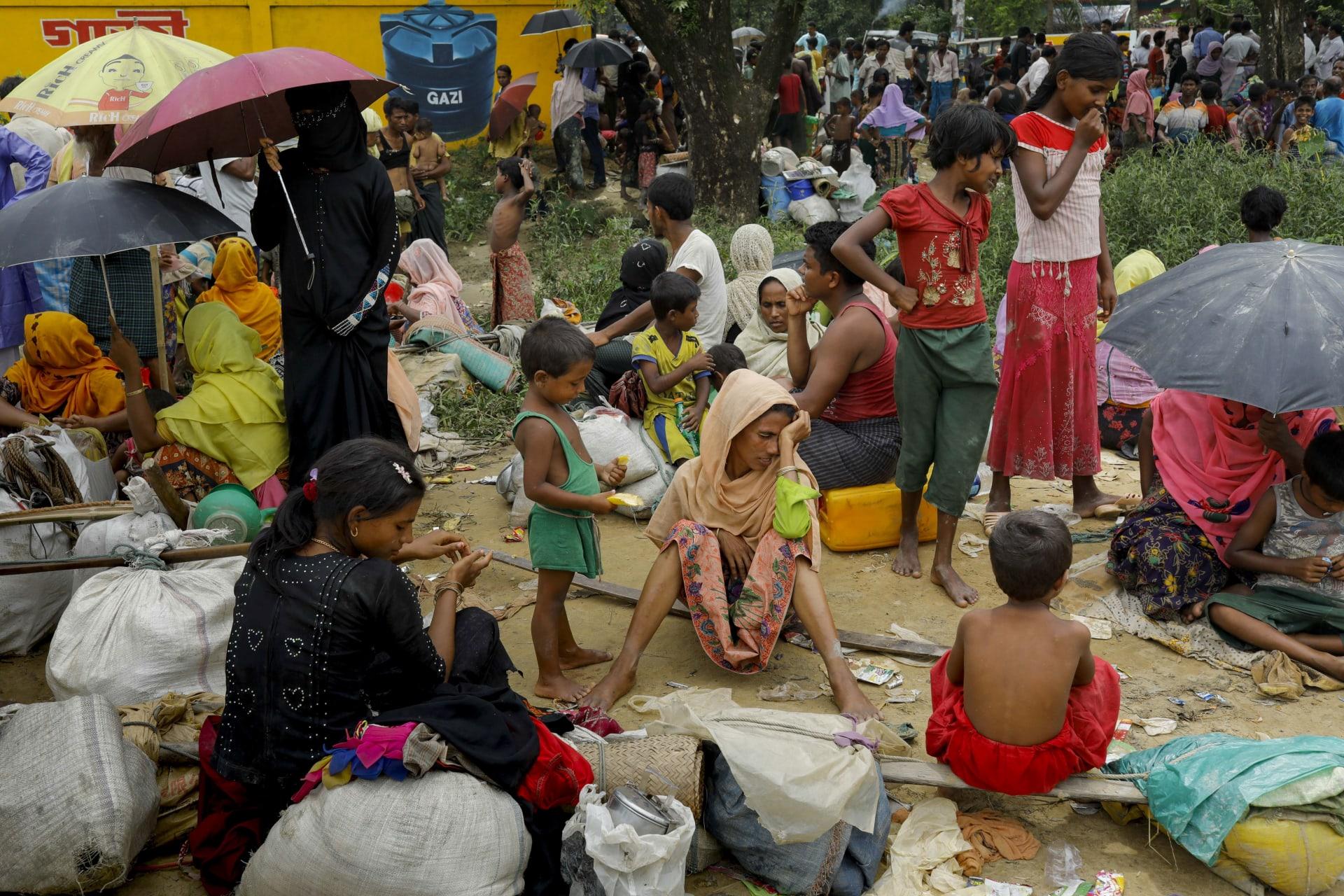 ألغام تُفخخ مسار لاجئي الروهينغا على حدود ميانمار مع بنغلاديش