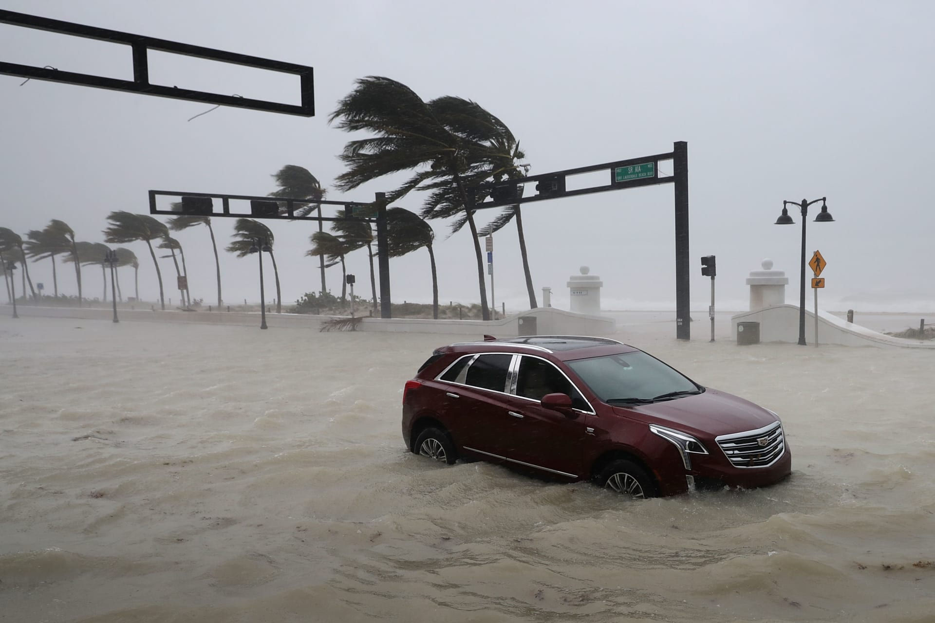مليارات الدولارات.. هذه الخسائر المالية الضخمة إثر إعصاري هارفي وإيرما