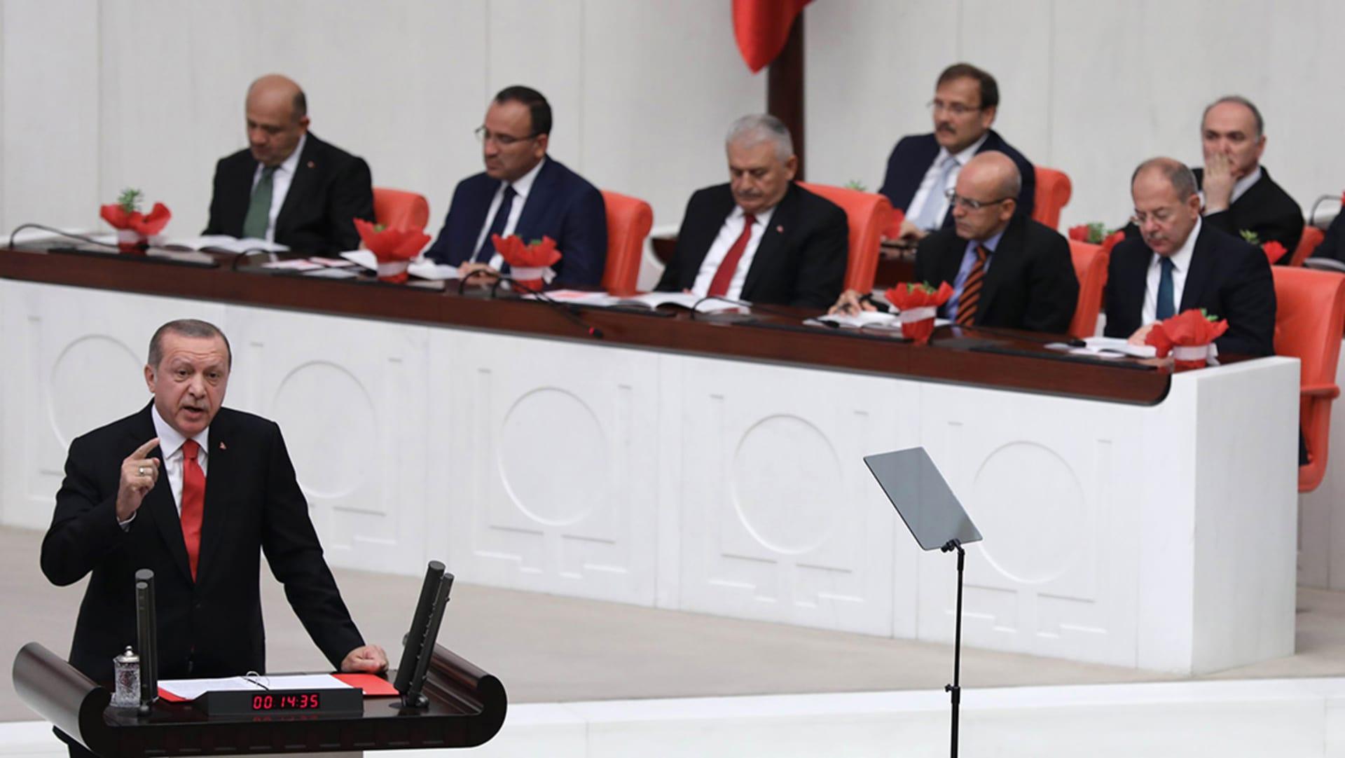 أردوغان: استفتاء كردستان سبب للفتنة بالمنطقة.. ولن نتسامح مع التهديدات