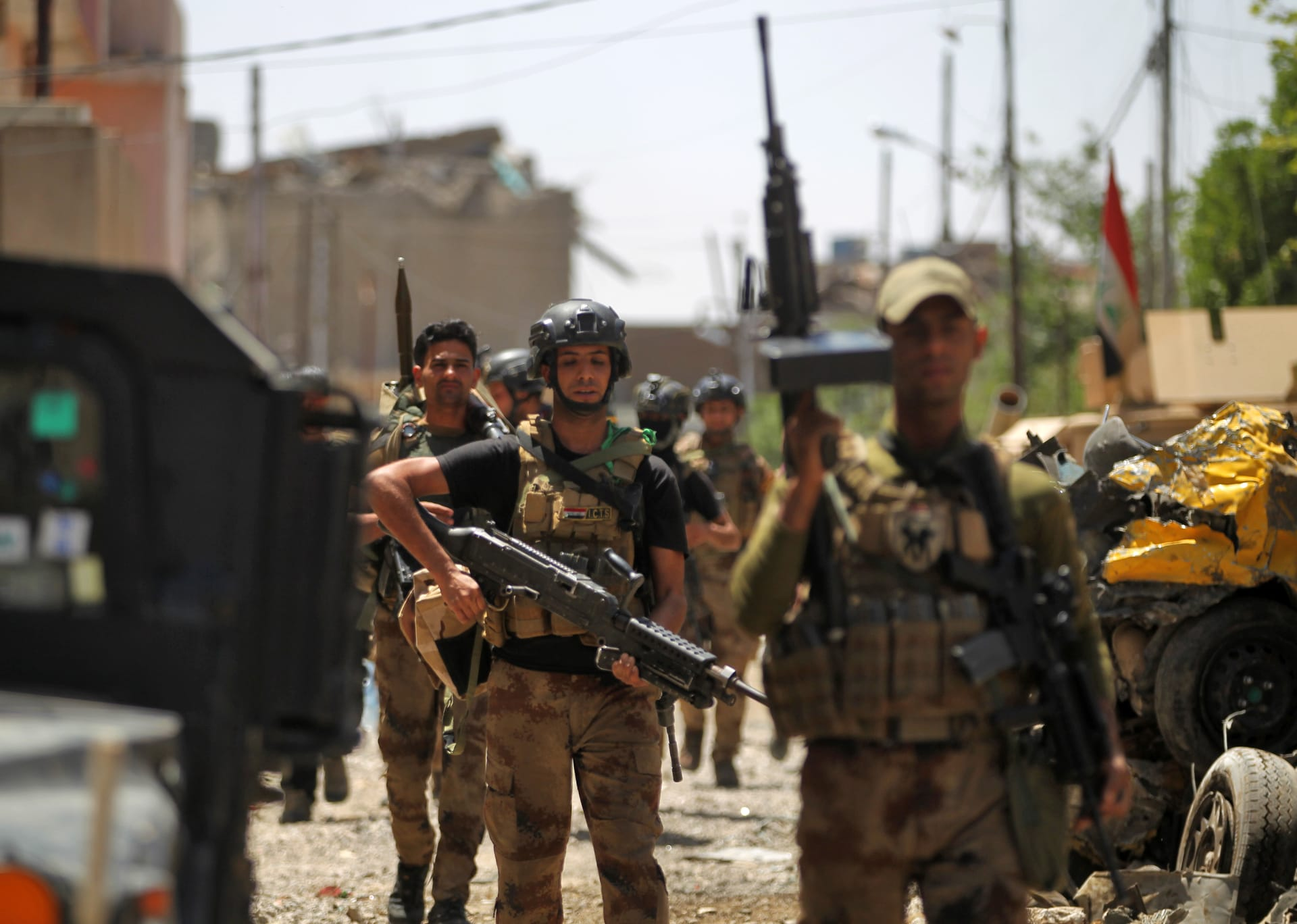 جهاز مكافحة الإرهاب العراقي: لم نشتبك مع البيشمركة ونتقدم بكركوك