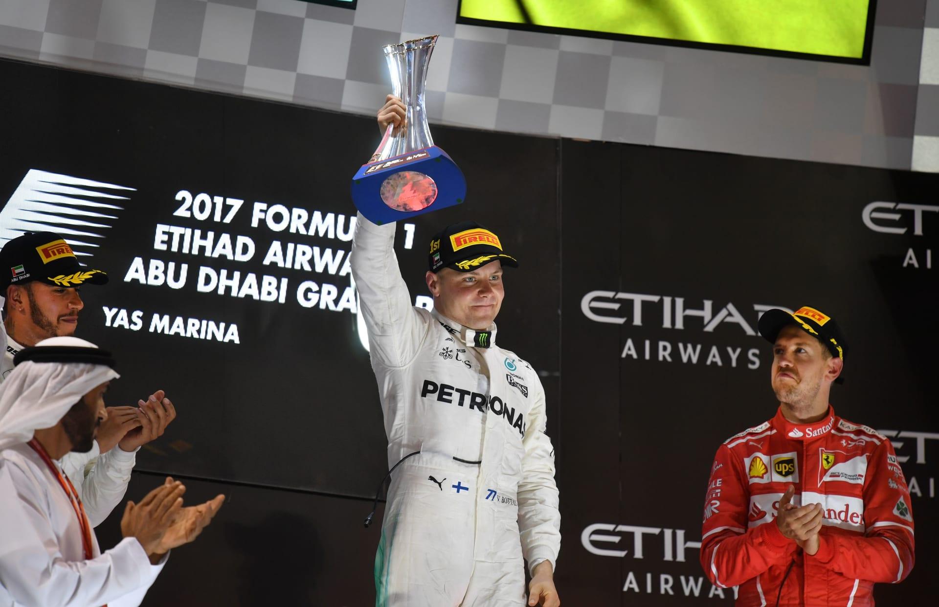 الفنلندي بوتاس يفوز بسباق أبوظبي ويفشل في خطف المركز الثاني في الترتيب العام