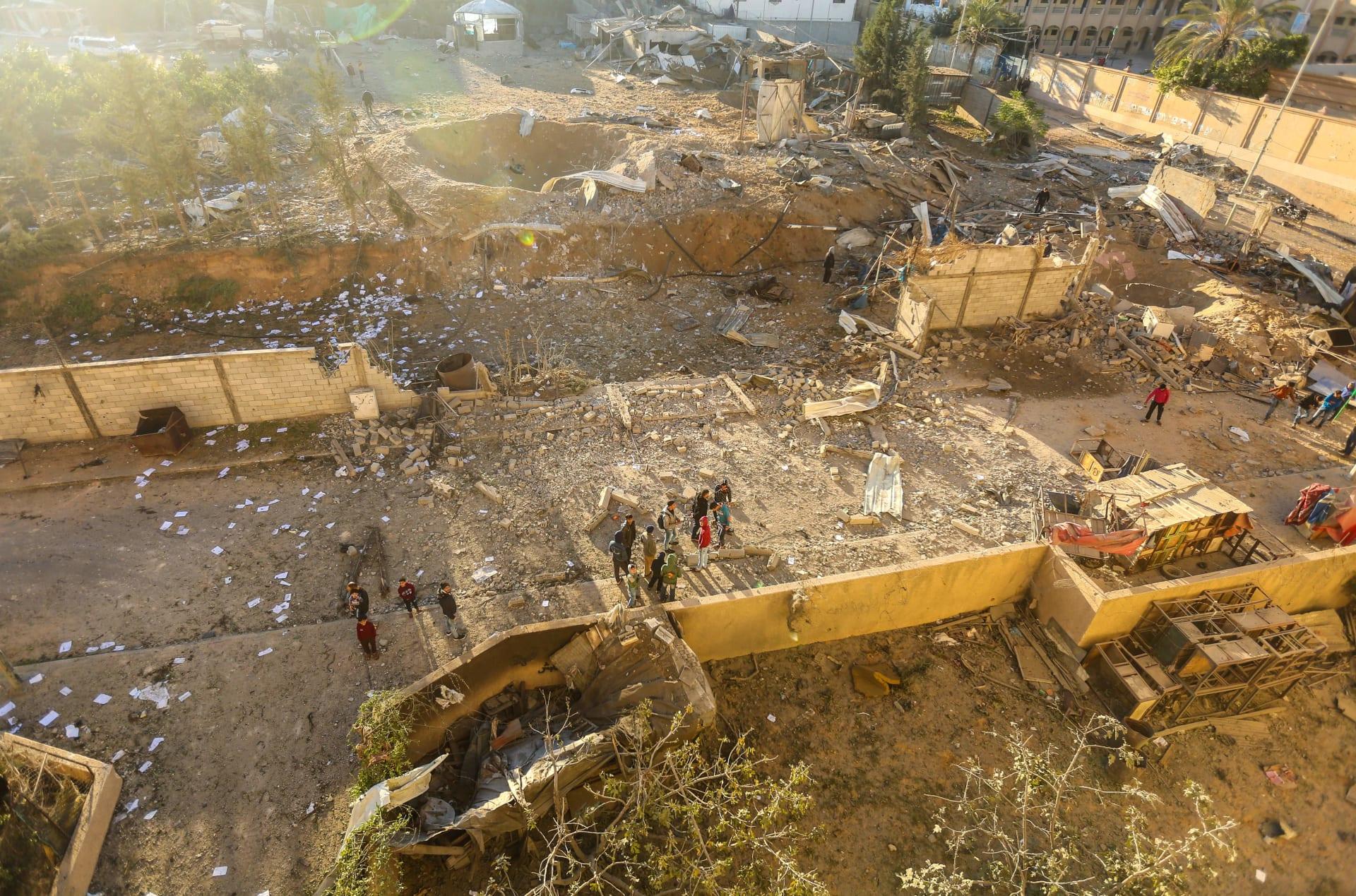 ارتفاع حصيلة القتلى الفلسطينيين لأربعة إثر الغارات الإسرائيلية
