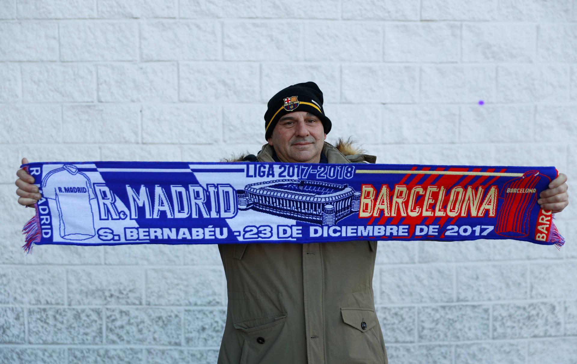 """تابعوا تغطيتنا المباشرة لـ """"كلاسيكو الشتاء"""" بين ريال مدريد وبرشلونة"""
