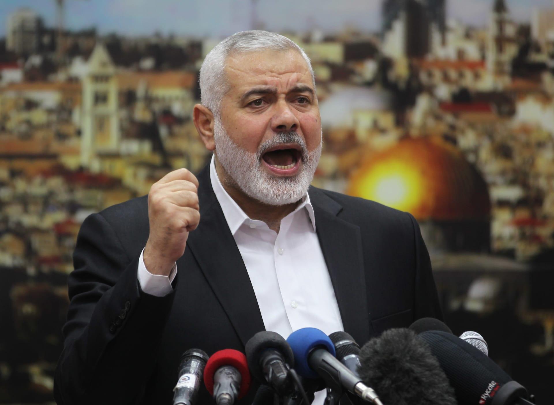 هنية: التأخير بالمصالحة الفلسطينية سيترتب عليه نتائج وخيمة