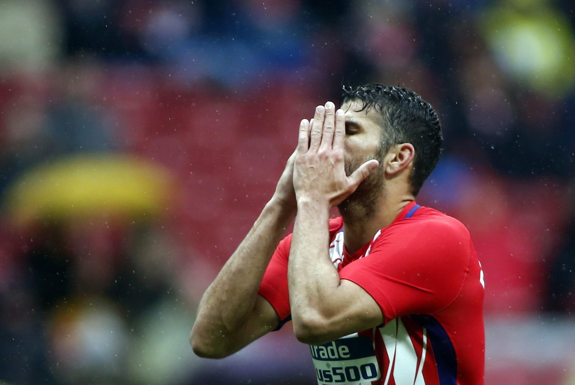 """""""المشاغب"""" يعود.. كوستا يسجل ويطرد خلال ثوان بعد عودته لأتلتيكو مدريد"""