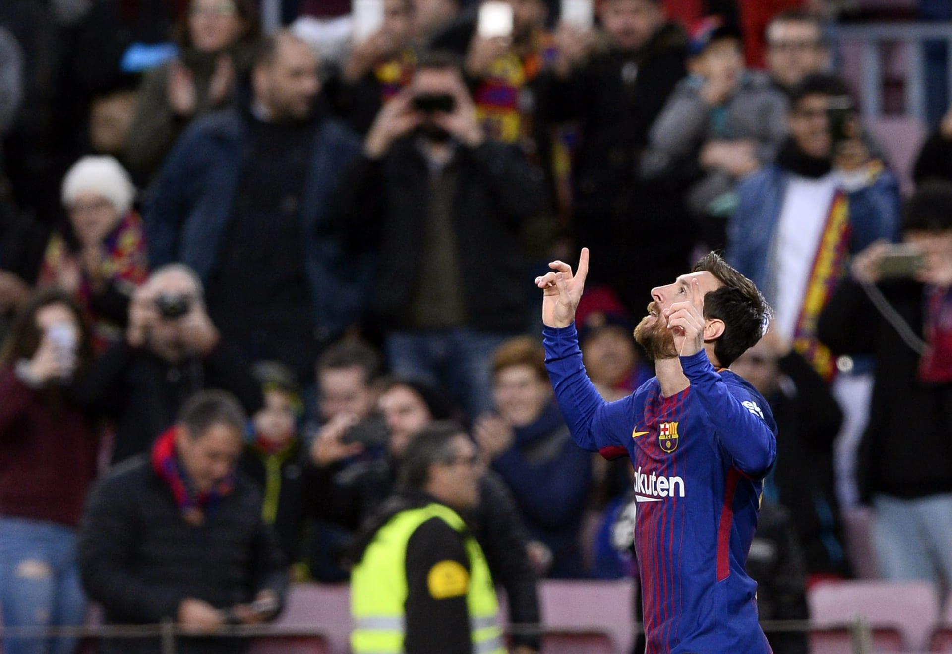 """برشلونة يفوز على ليفانتي وميسي يسجل هدفه رقم 365 في """"الليغا"""""""