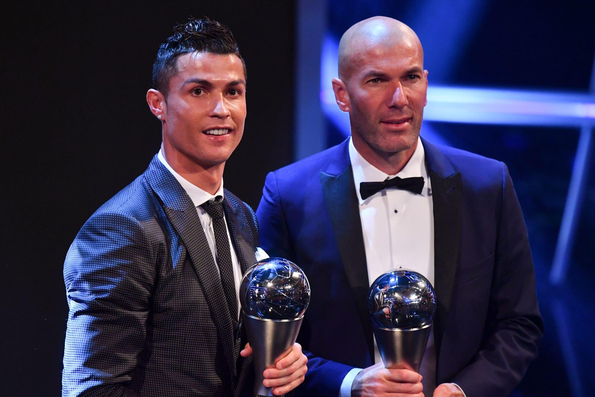 زيدان: لا يمكنني أن أتخيل ريال مدريد بدون رونالدو