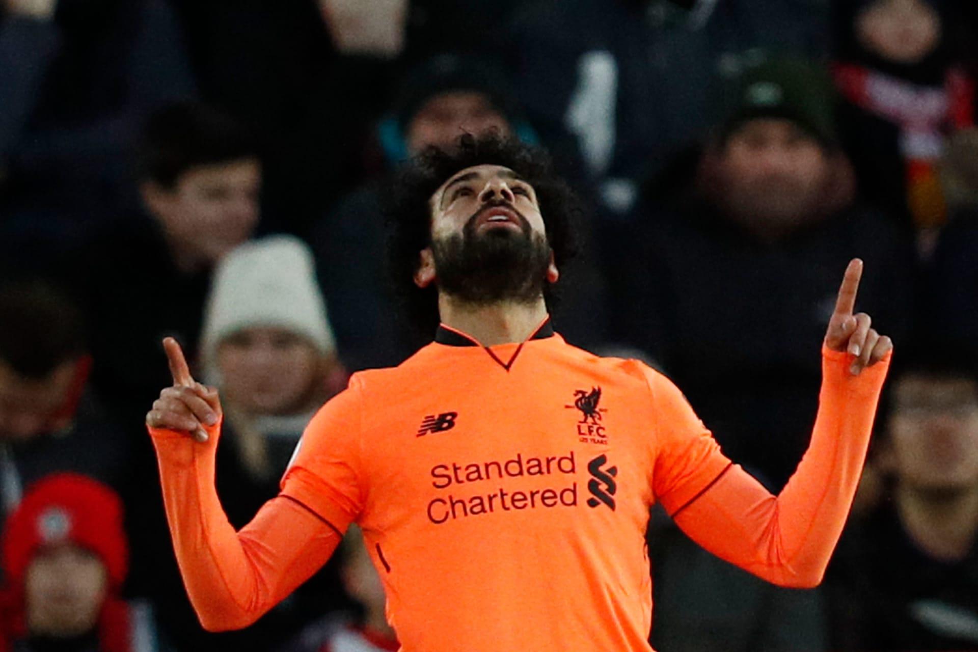 محمد صلاح يحقق رقما تاريخيا مع ليفربول بعد تسجيله الهدف رقم 22